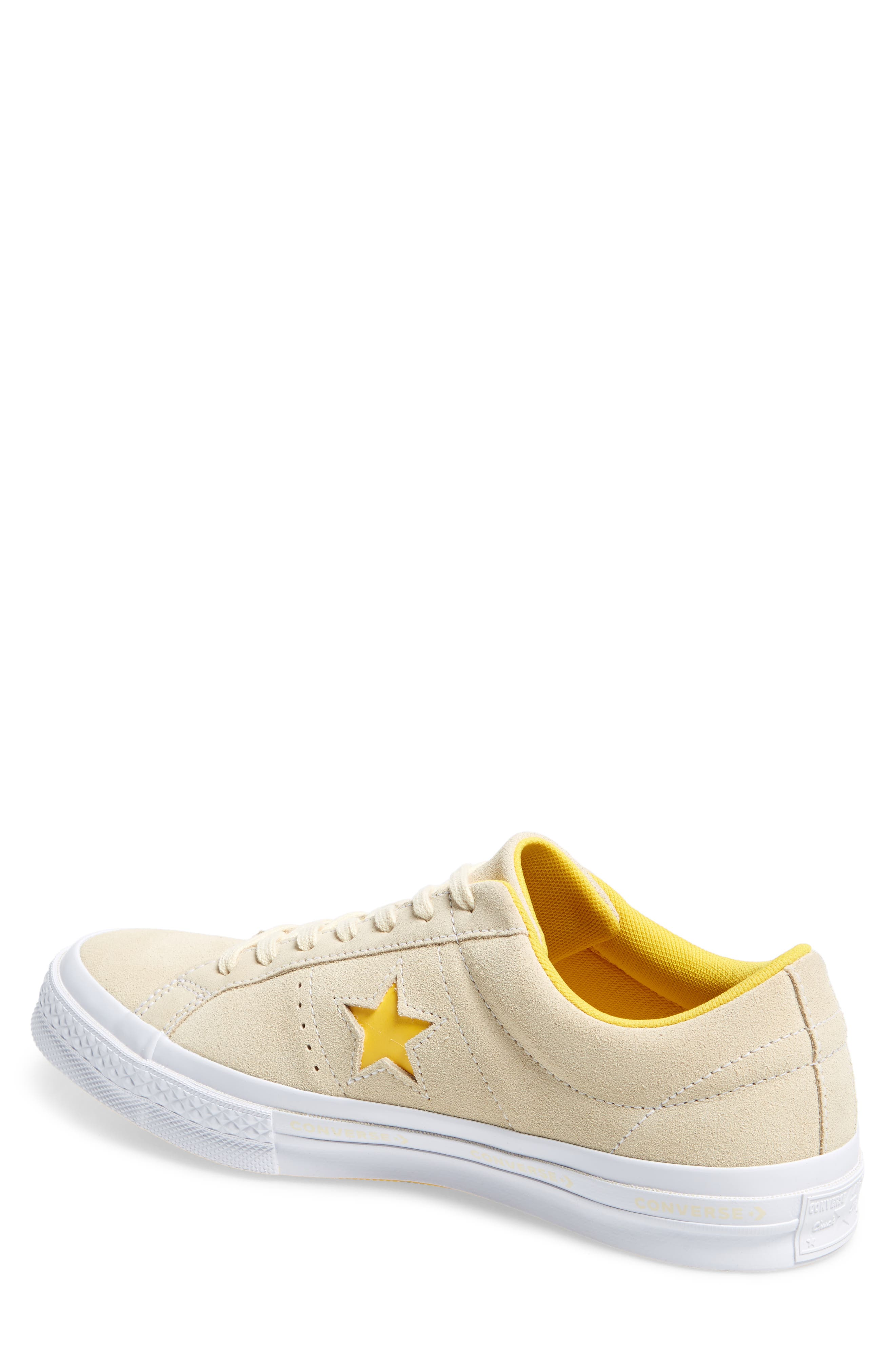 Chuck Taylor<sup>®</sup> One Star Pinstripe Sneaker,                             Alternate thumbnail 8, color,