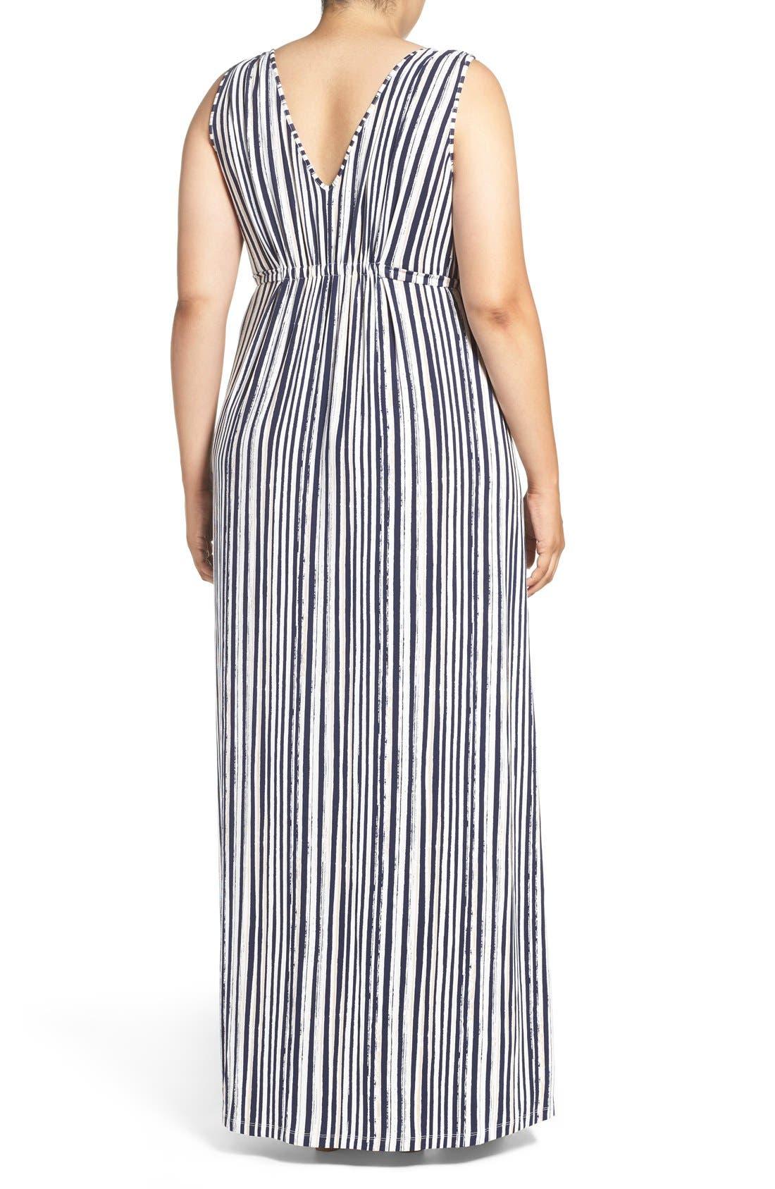 Grecia Sleeveless Jersey Maxi Dress,                             Alternate thumbnail 13, color,