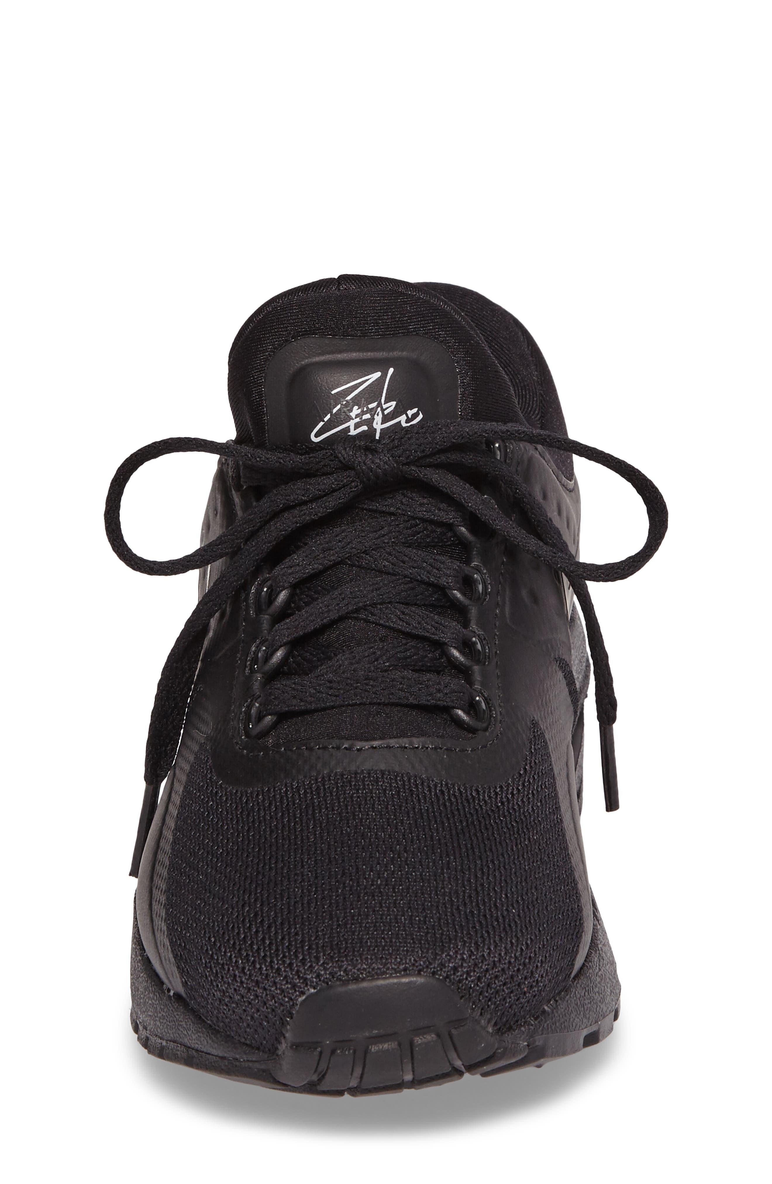 Air Max Zero Essential Sneaker,                             Alternate thumbnail 4, color,                             006