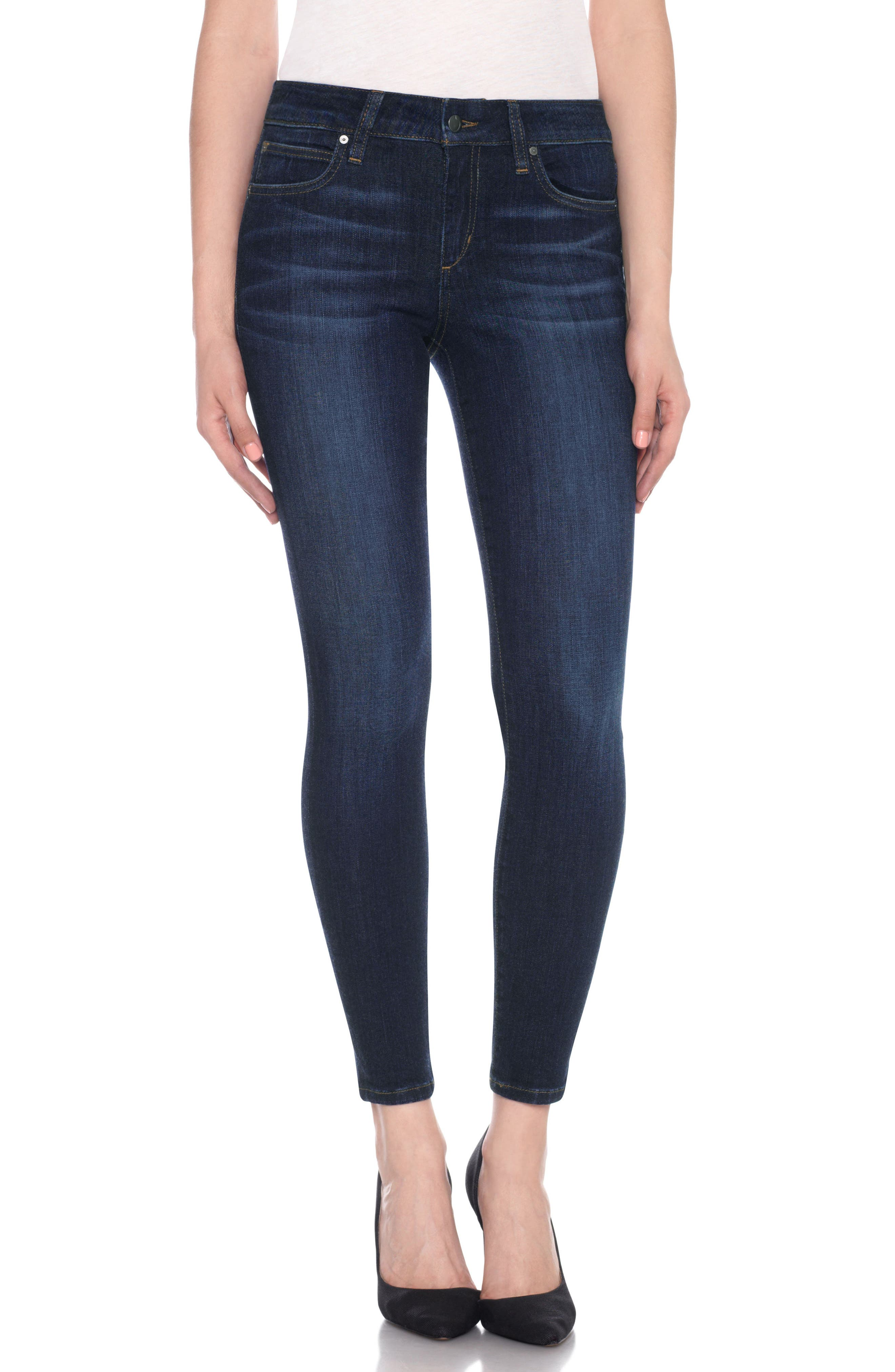 Flawless - Icon Ankle Skinny Jeans,                             Main thumbnail 1, color,                             NURIE