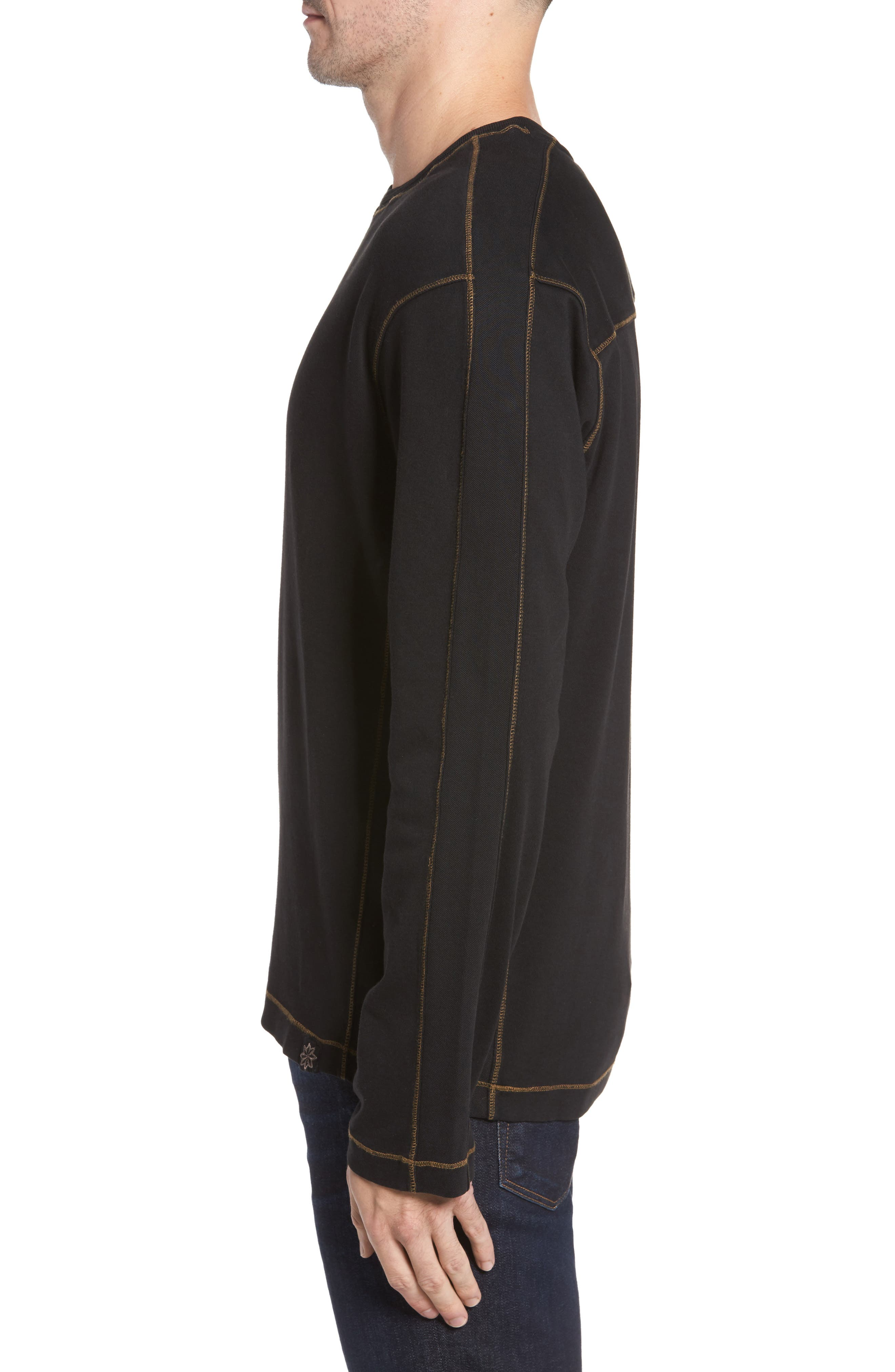 Kenyon Long Sleeve T-Shirt,                             Alternate thumbnail 3, color,                             001