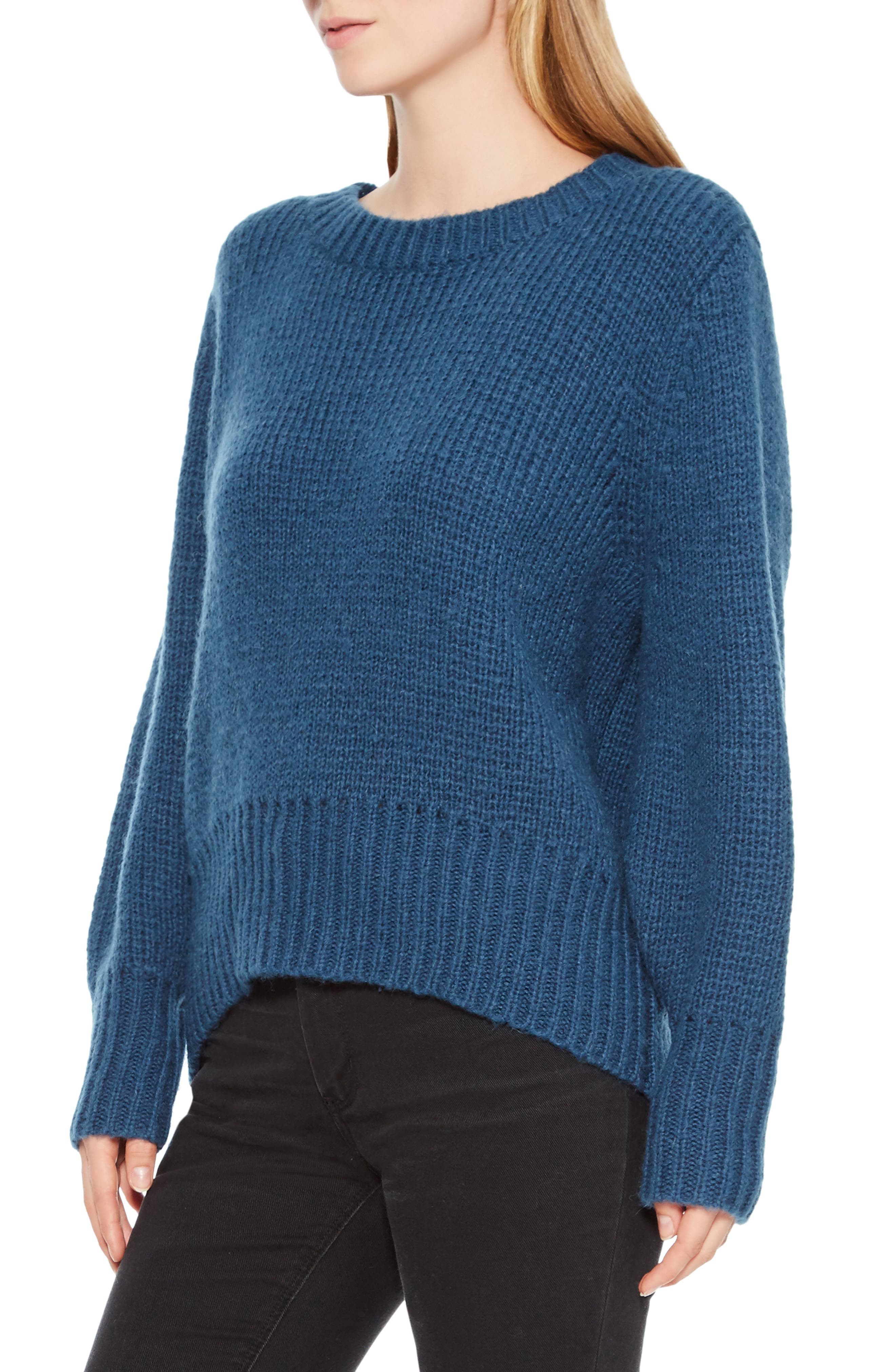 Matty Bow Back Sweater,                             Alternate thumbnail 3, color,                             449