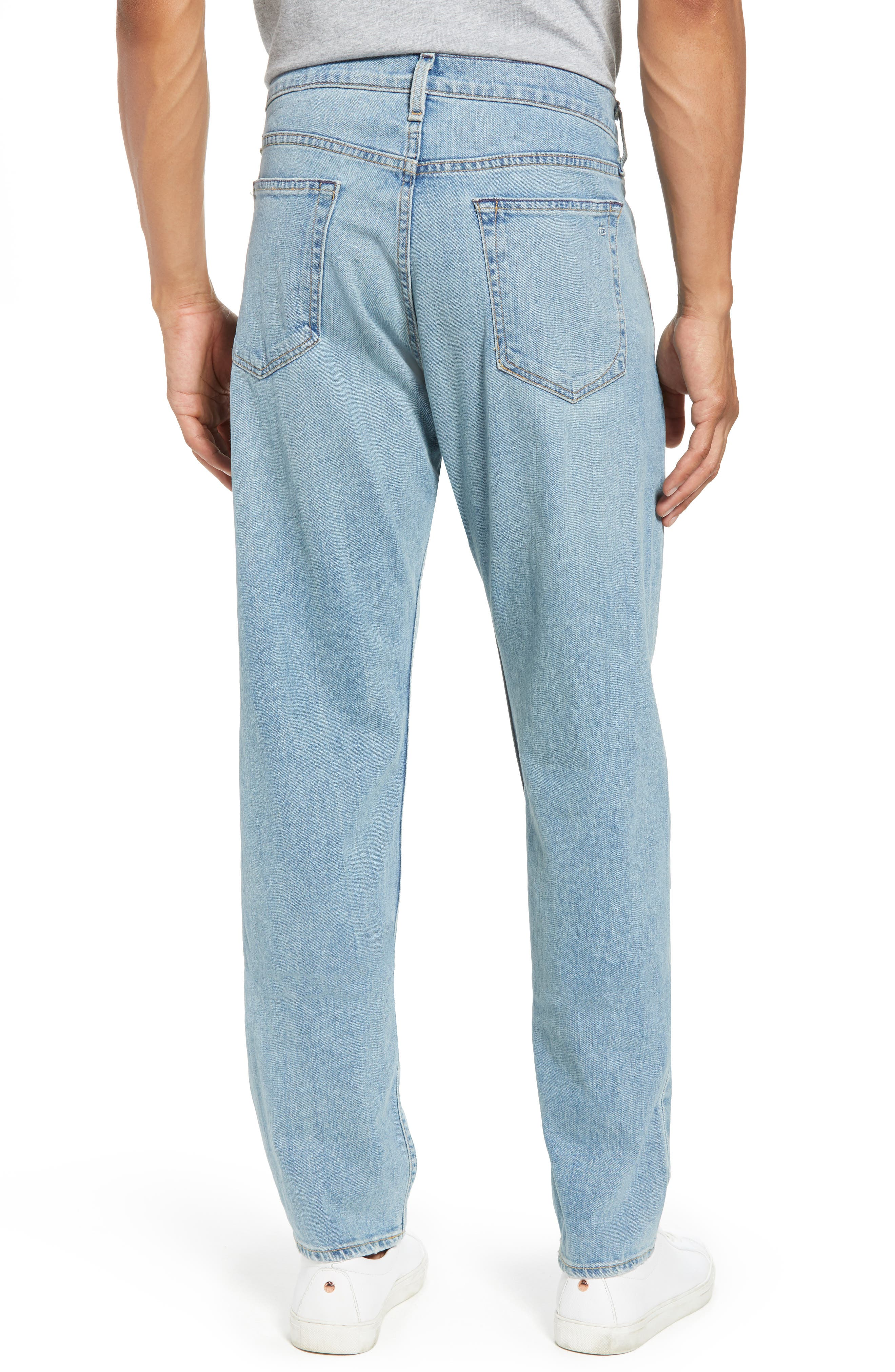 Fit 3 Slim Straight Leg Jeans,                             Alternate thumbnail 2, color,                             420