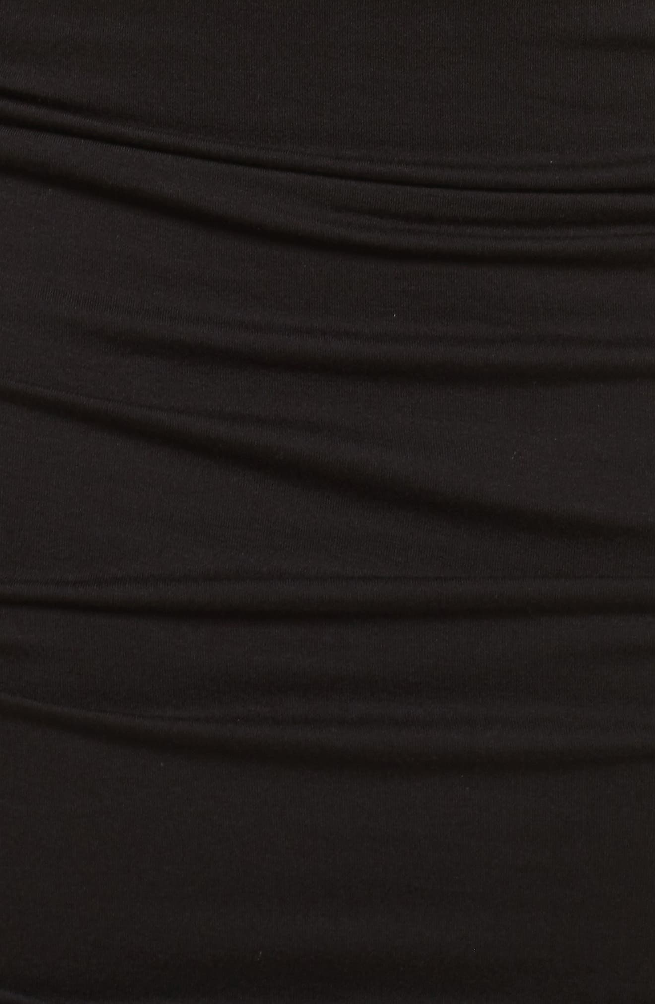 Slit Sleeve Knit Sheath Dress,                             Alternate thumbnail 5, color,                             010