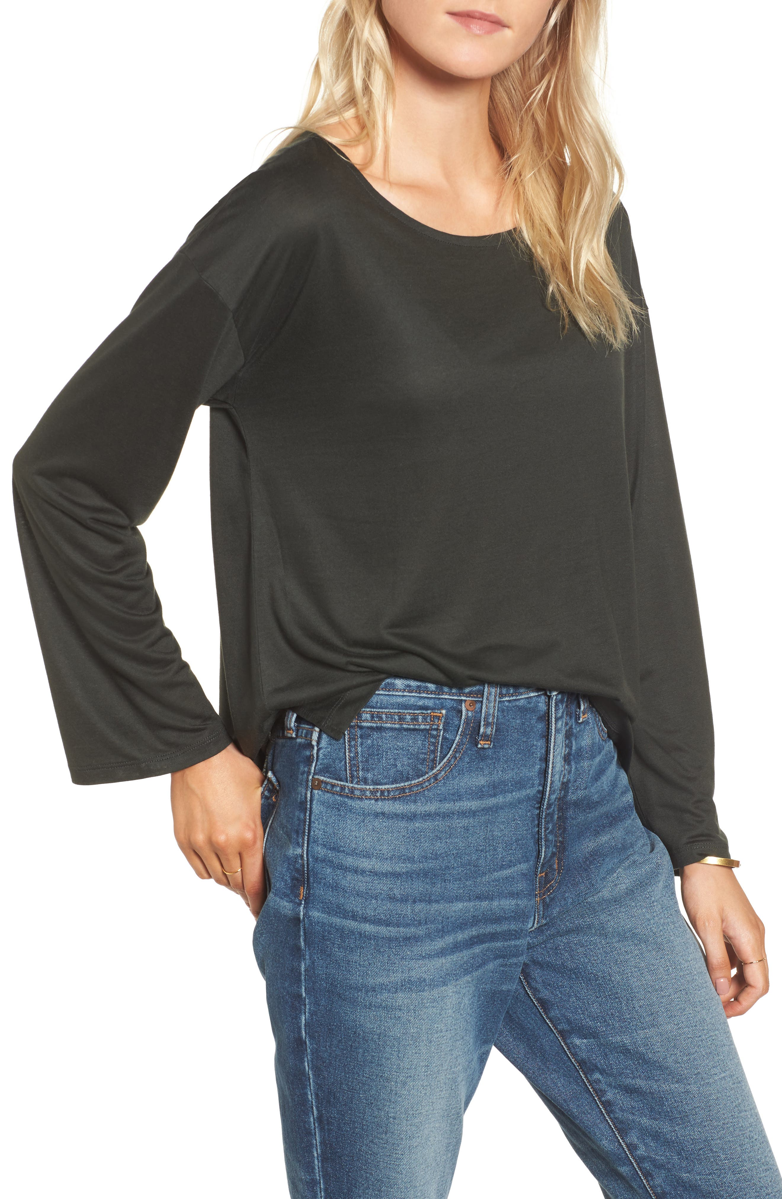 Libretto Wide Sleeve Top,                             Main thumbnail 4, color,