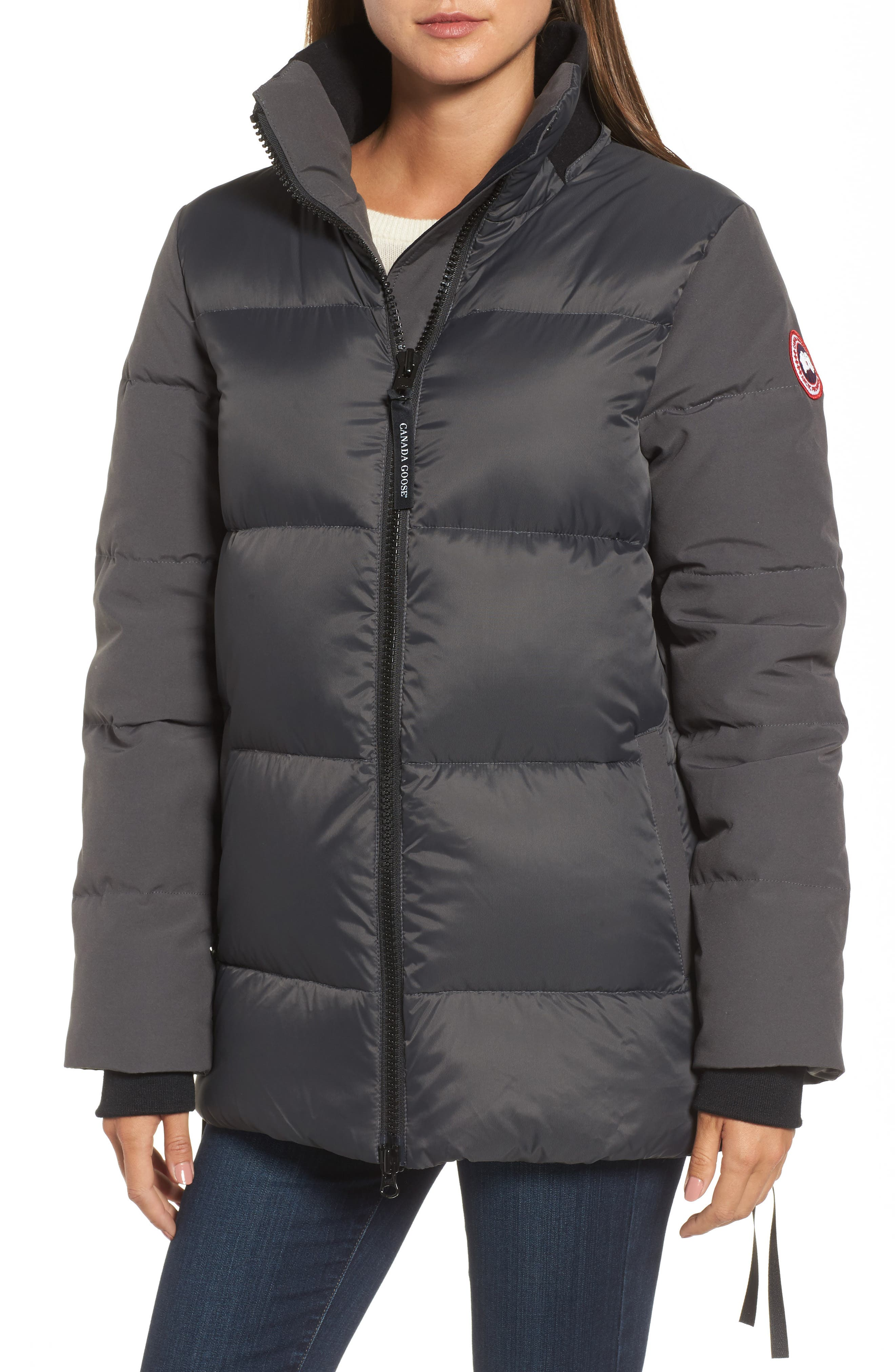 Whitehorse Hooded Water Resistant 675-Fill-Power Down Parka,                             Alternate thumbnail 12, color,