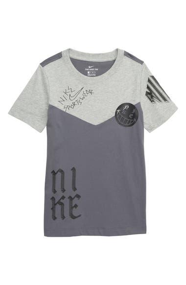 7875e90de0 Nike Sportswear Icon Two-Tone T-Shirt (Little Boys   Big Boys ...