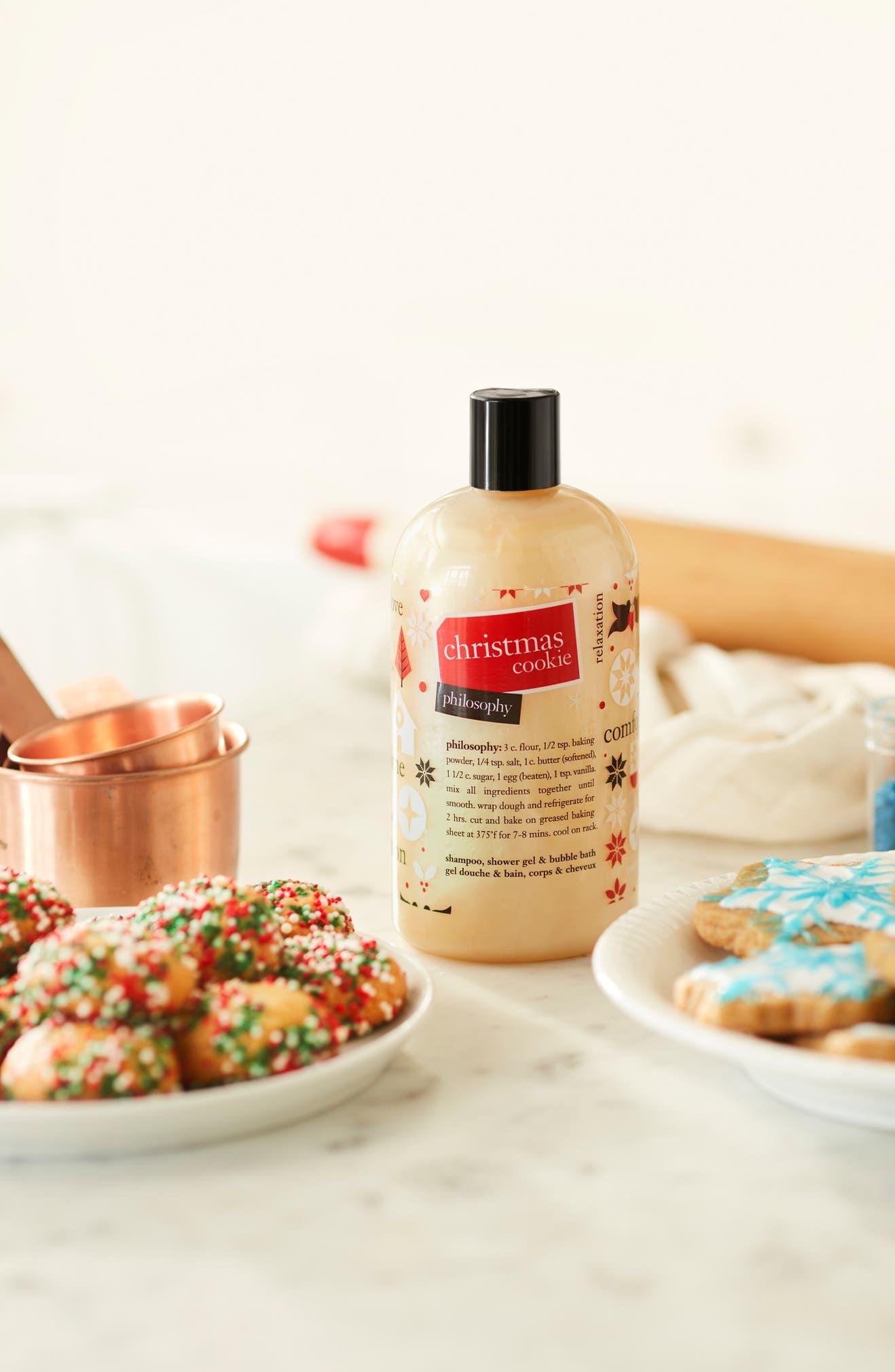 �ล�าร���หารู��า�สำหรั� Philosophy Christmas Cookie Shampoo, Shower Gel & Bubble Bath