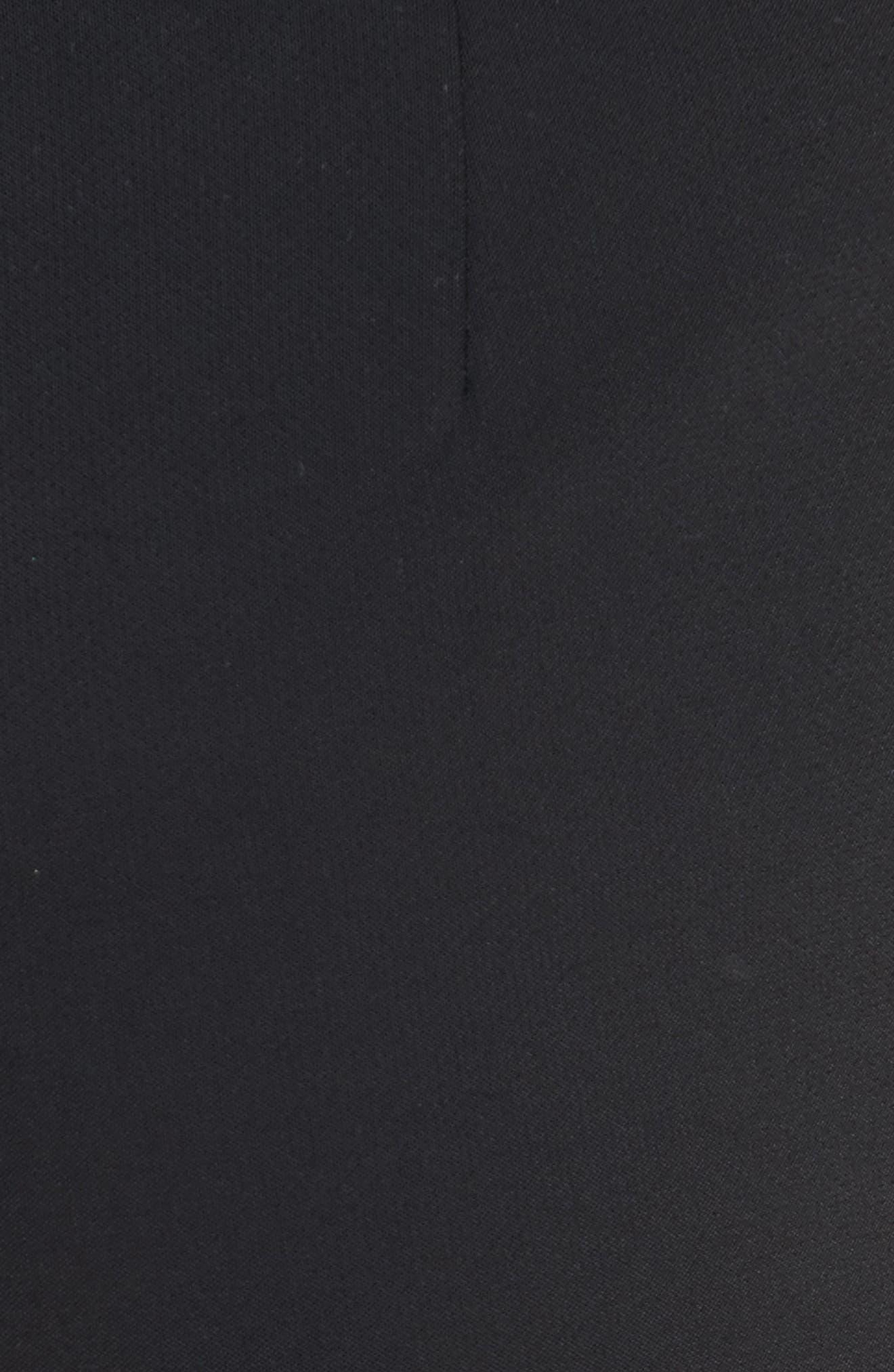 William Ruffle Hem Pants,                             Alternate thumbnail 5, color,                             001