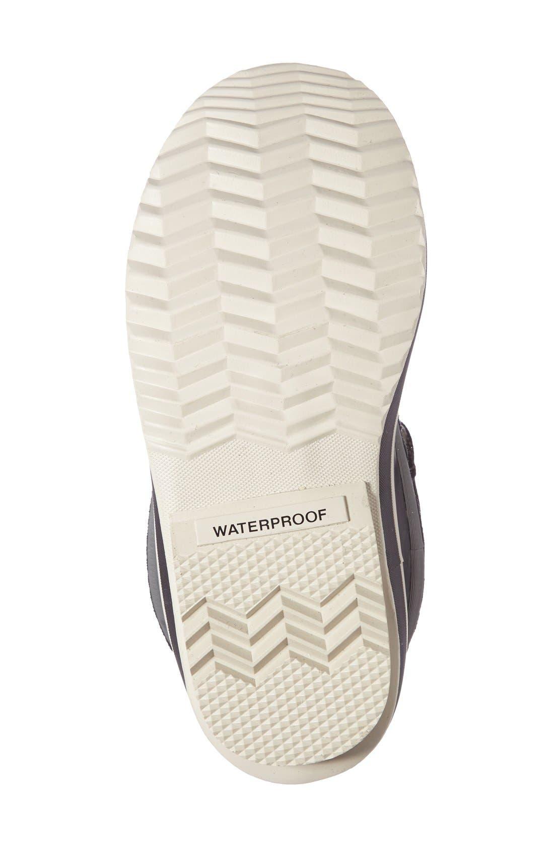 Joan of Arctic Genuine Shearling Waterproof Boot,                             Alternate thumbnail 17, color,