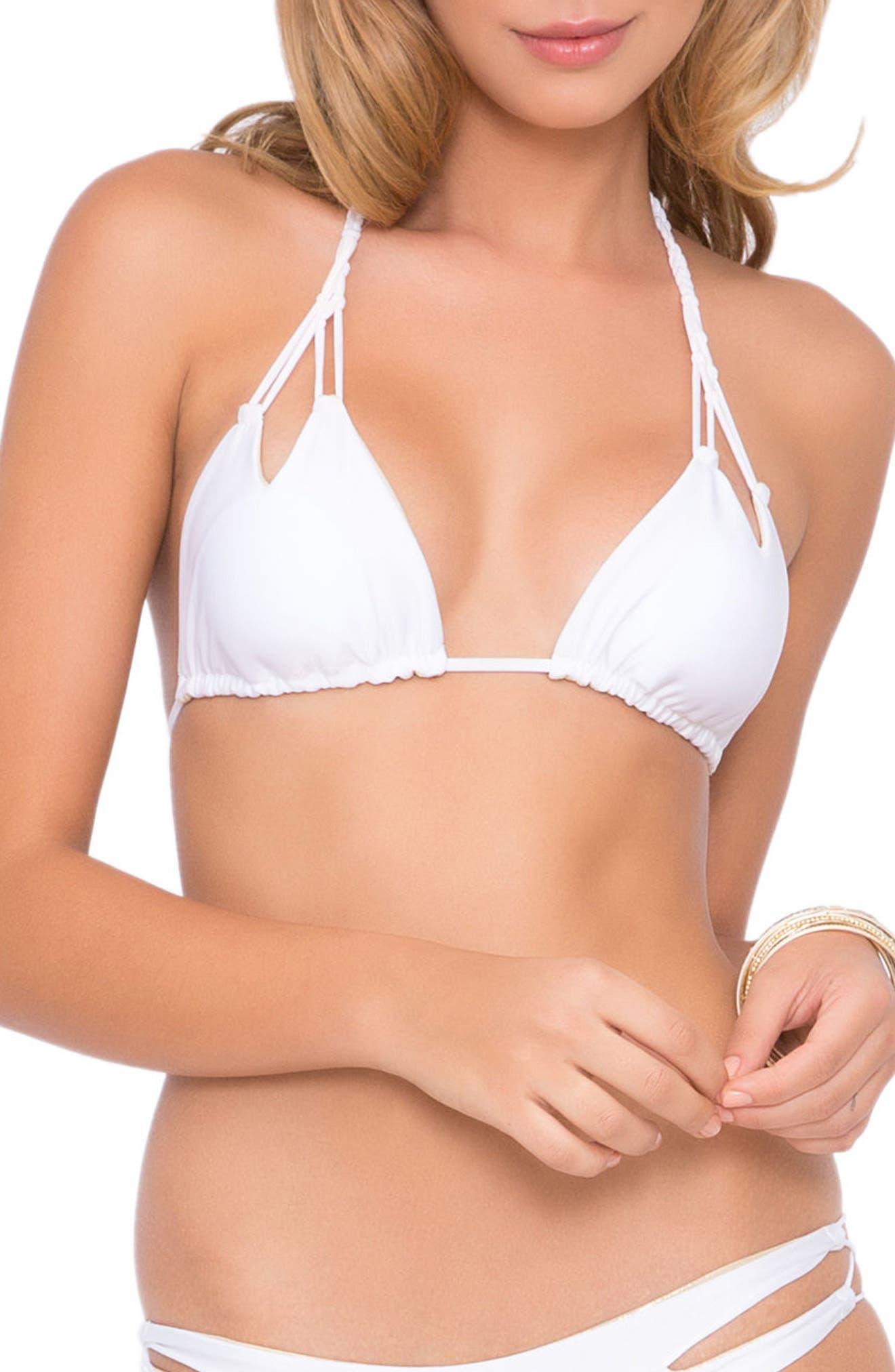 Reversible Triangle Bikini Top,                             Main thumbnail 5, color,