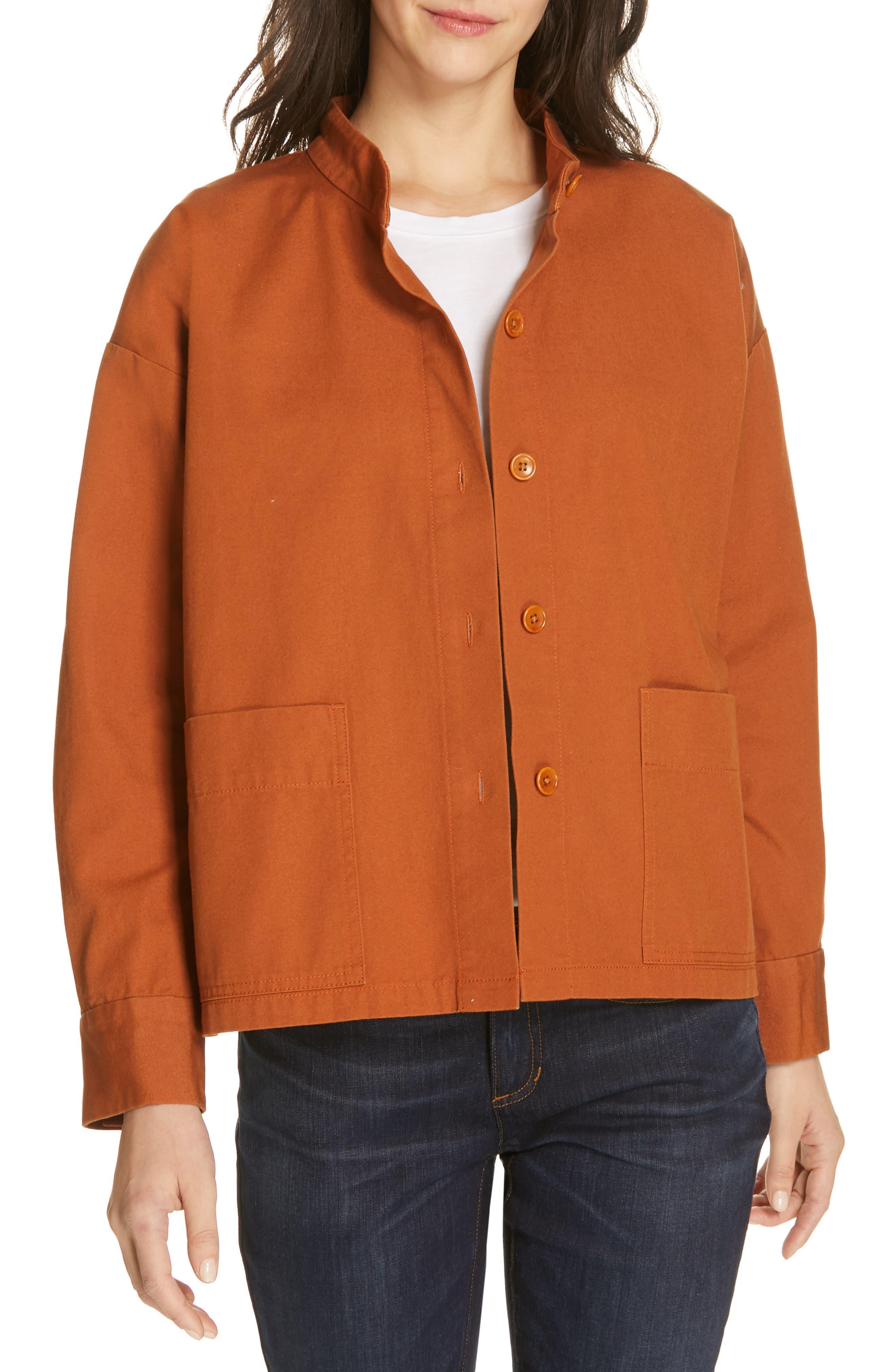 Organic Cotton Jacket, Main, color, MUSK