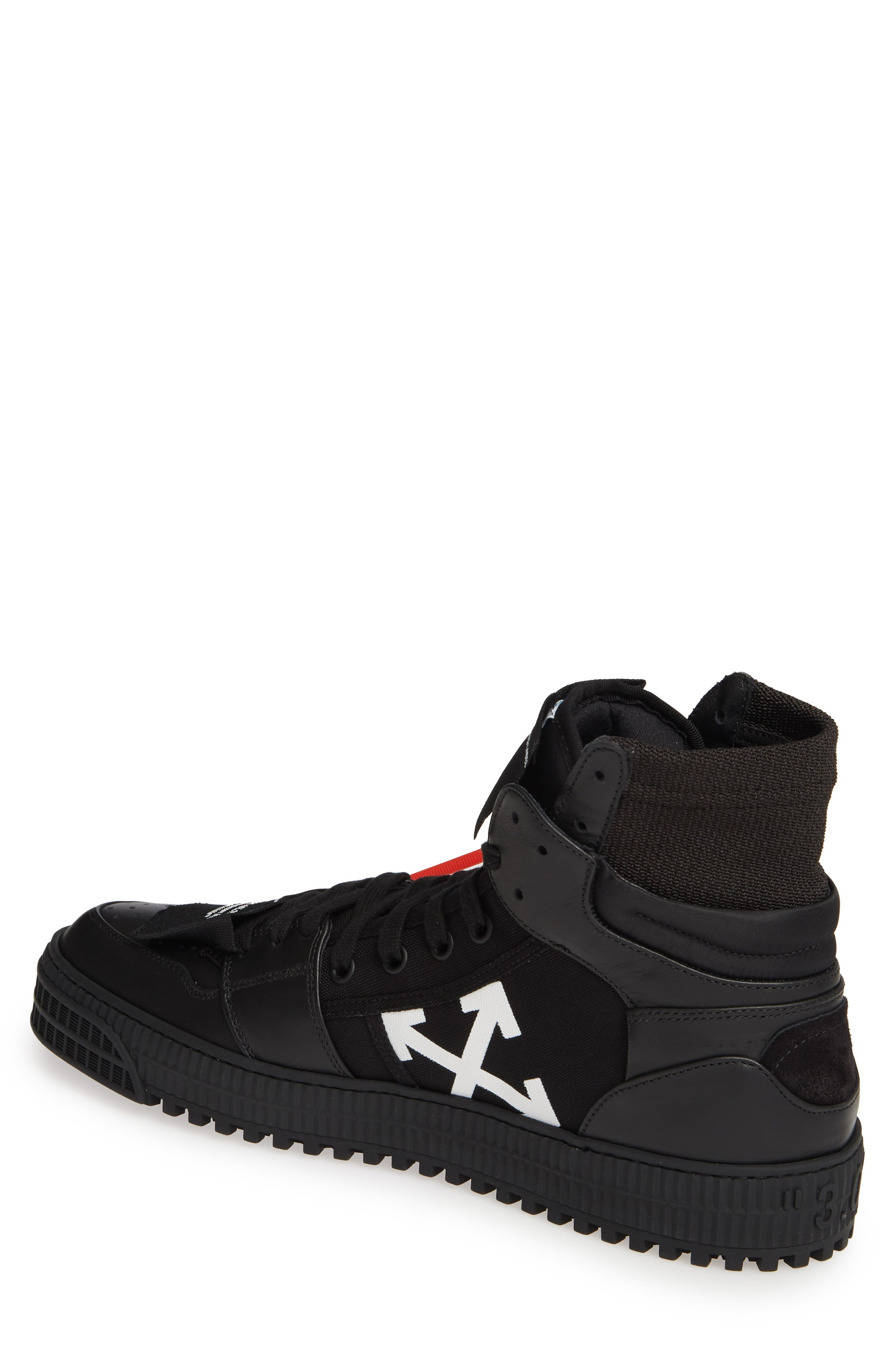 OFF-WHITE,                             Off Court Sneaker,                             Alternate thumbnail 2, color,                             BLACK