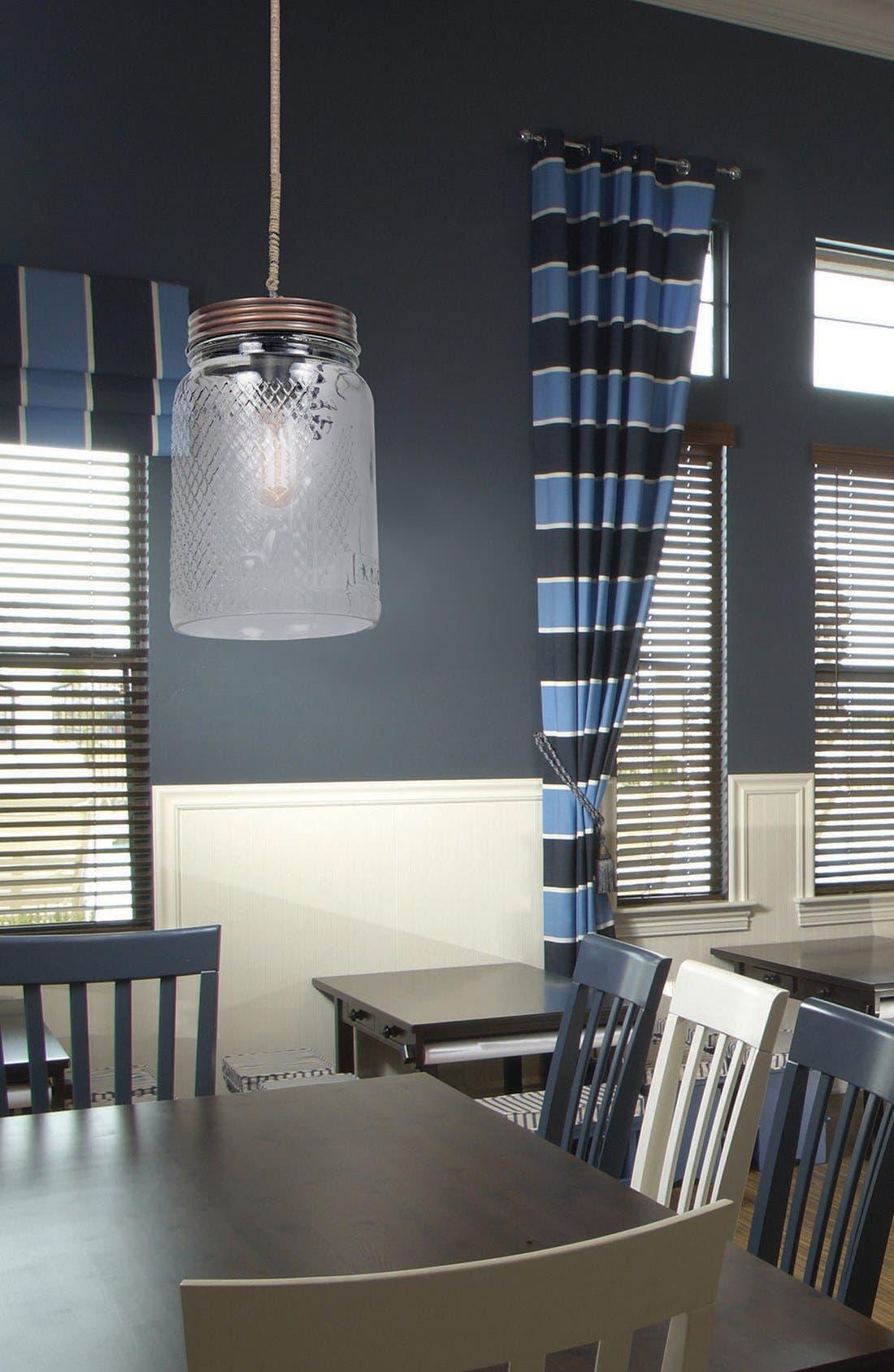 'Mason Jar' Ceiling Light Fixture,                             Alternate thumbnail 2, color,