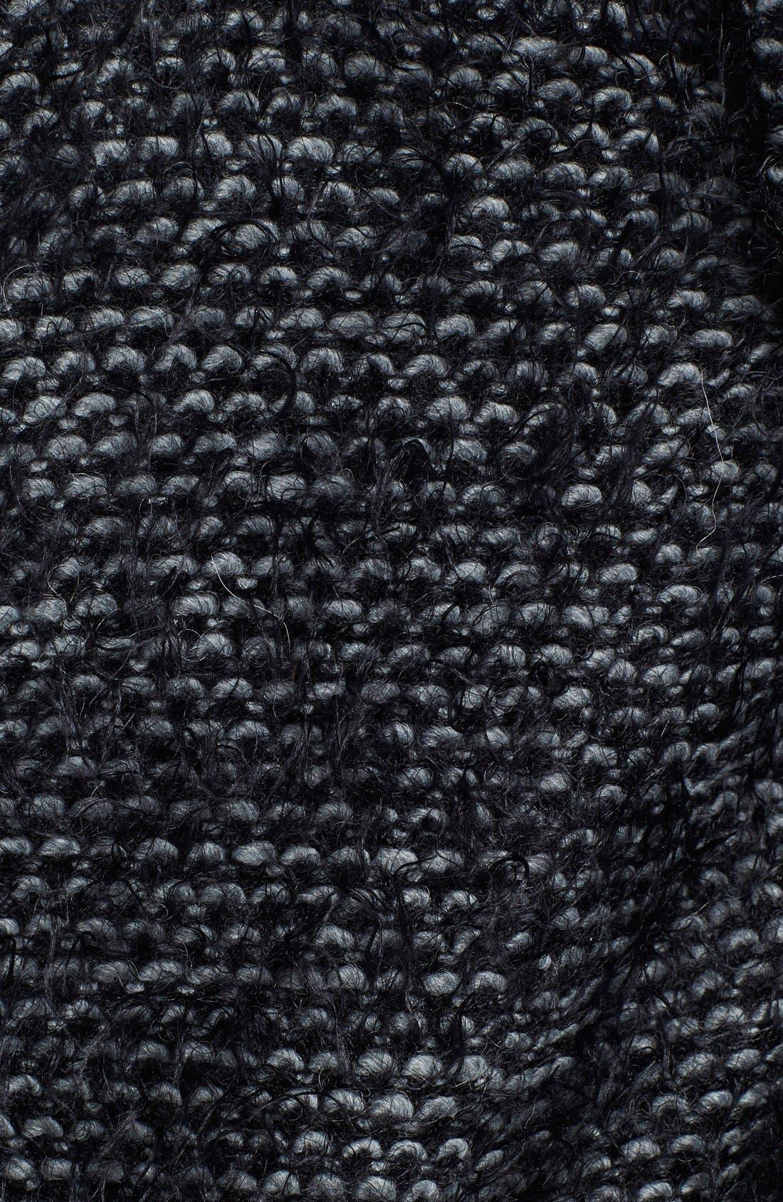 Tweed Long Coat,                             Alternate thumbnail 2, color,                             006