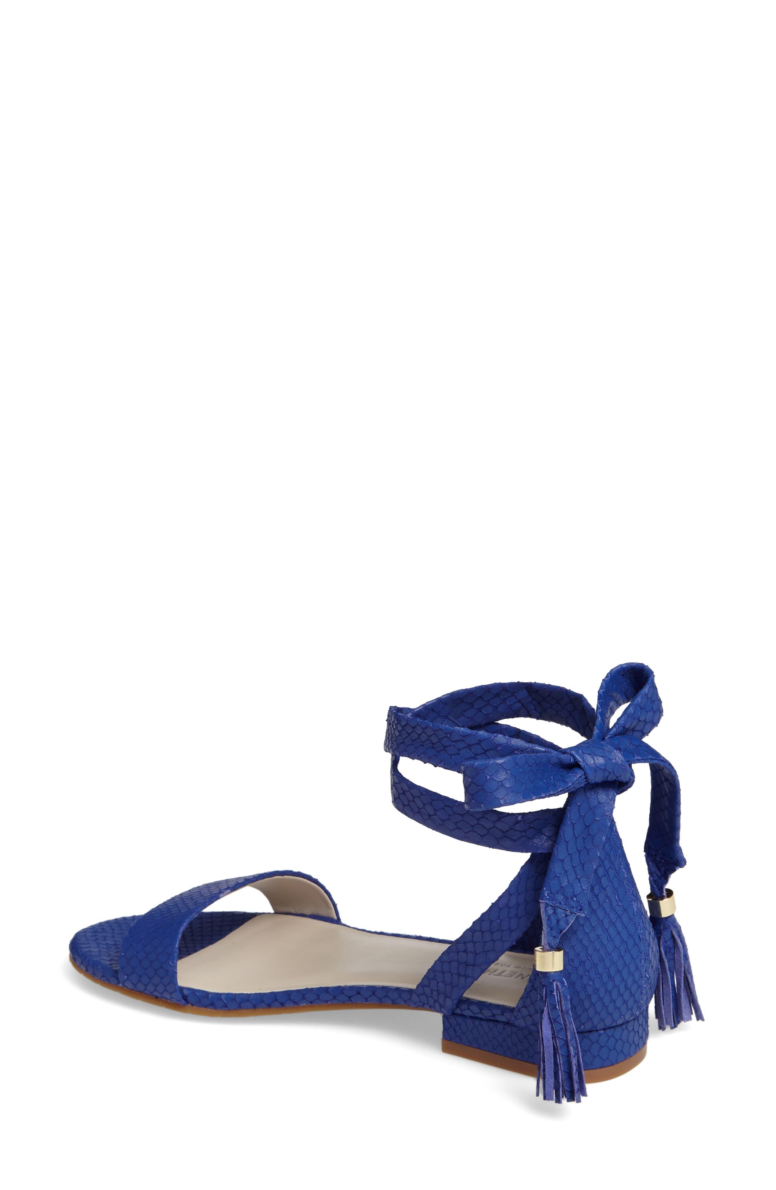 Valen Tassel Lace-Up Sandal,                             Alternate thumbnail 23, color,
