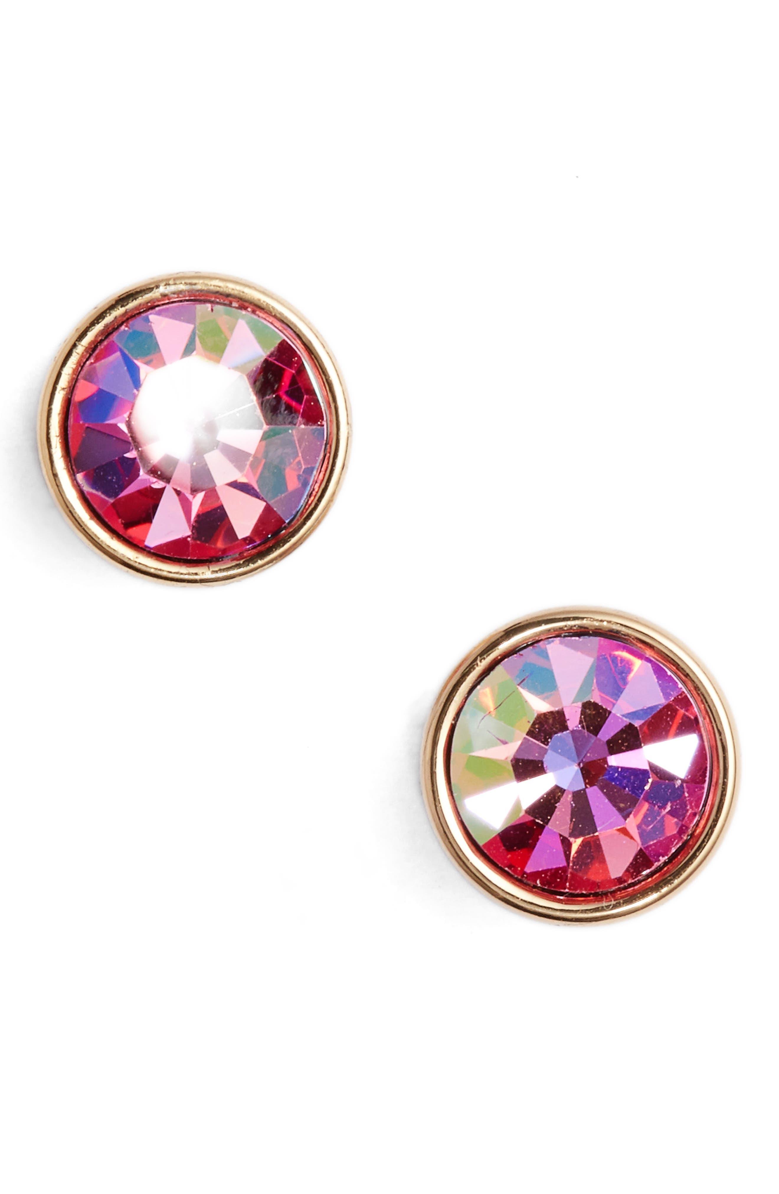 'forever' stud earrings,                             Main thumbnail 2, color,