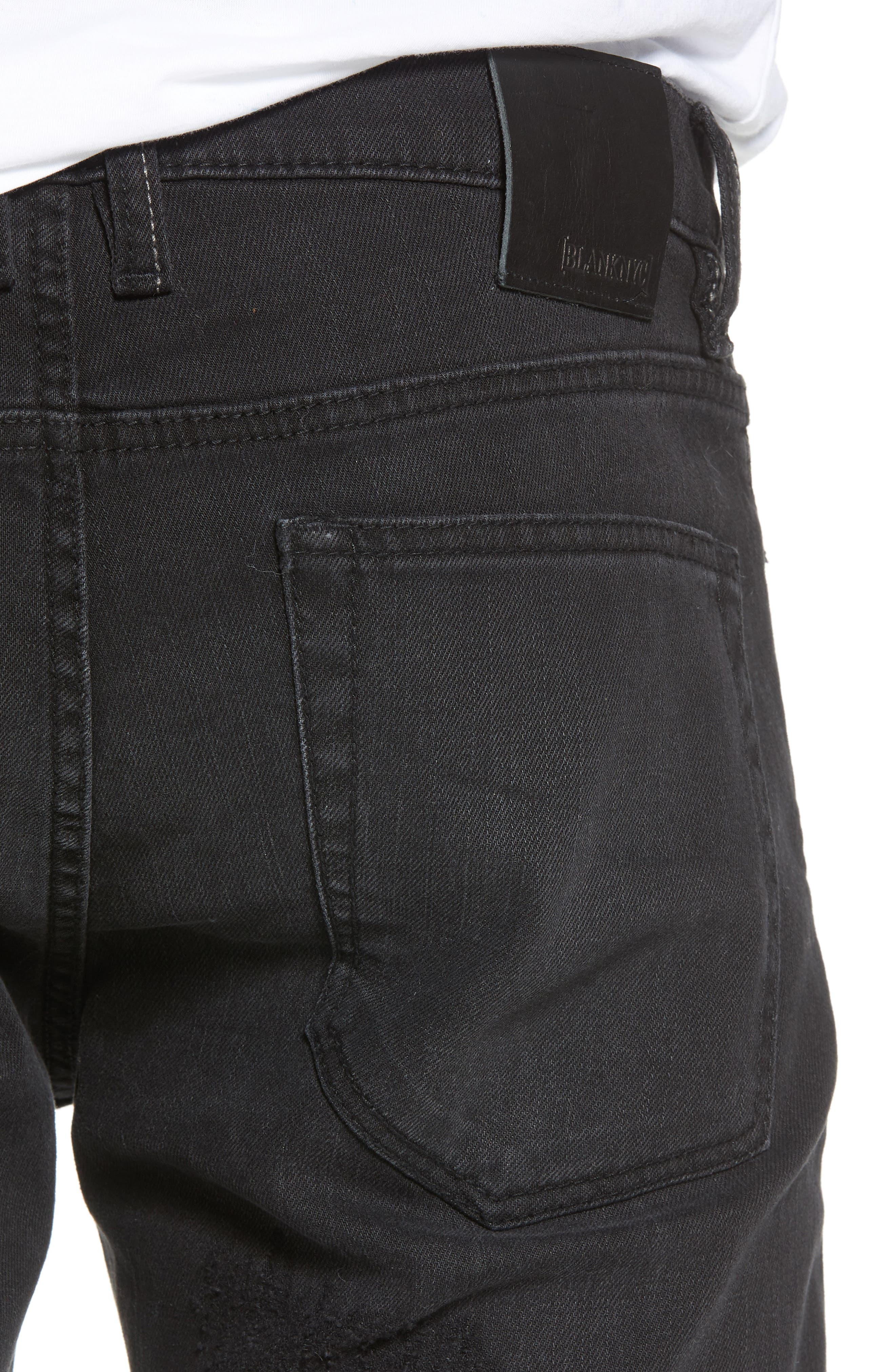 Wooster Slim Fit Jeans,                             Alternate thumbnail 4, color,                             WILLING BOUNDARY