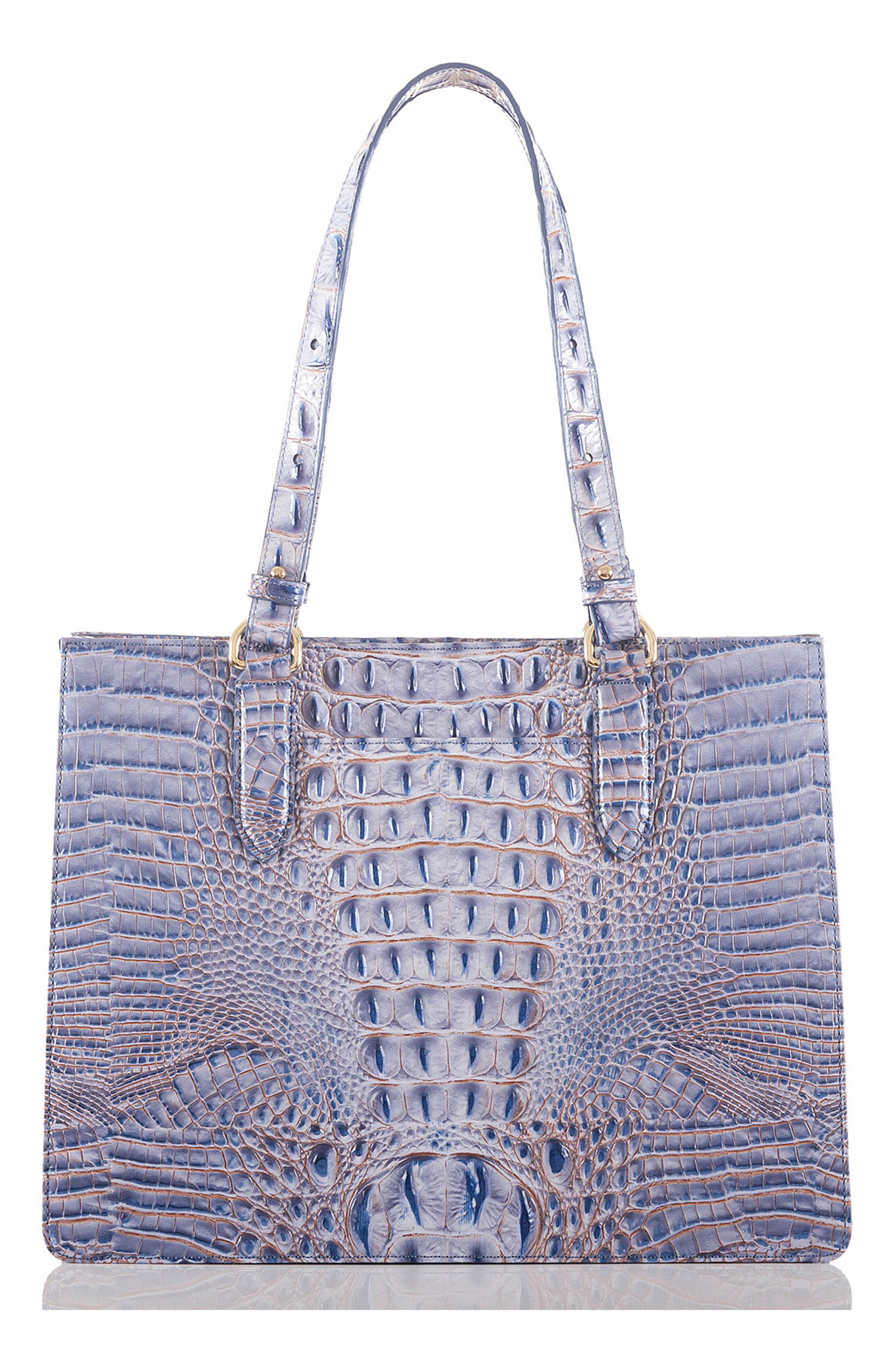 Medium Camille Leather Tote,                             Alternate thumbnail 4, color,