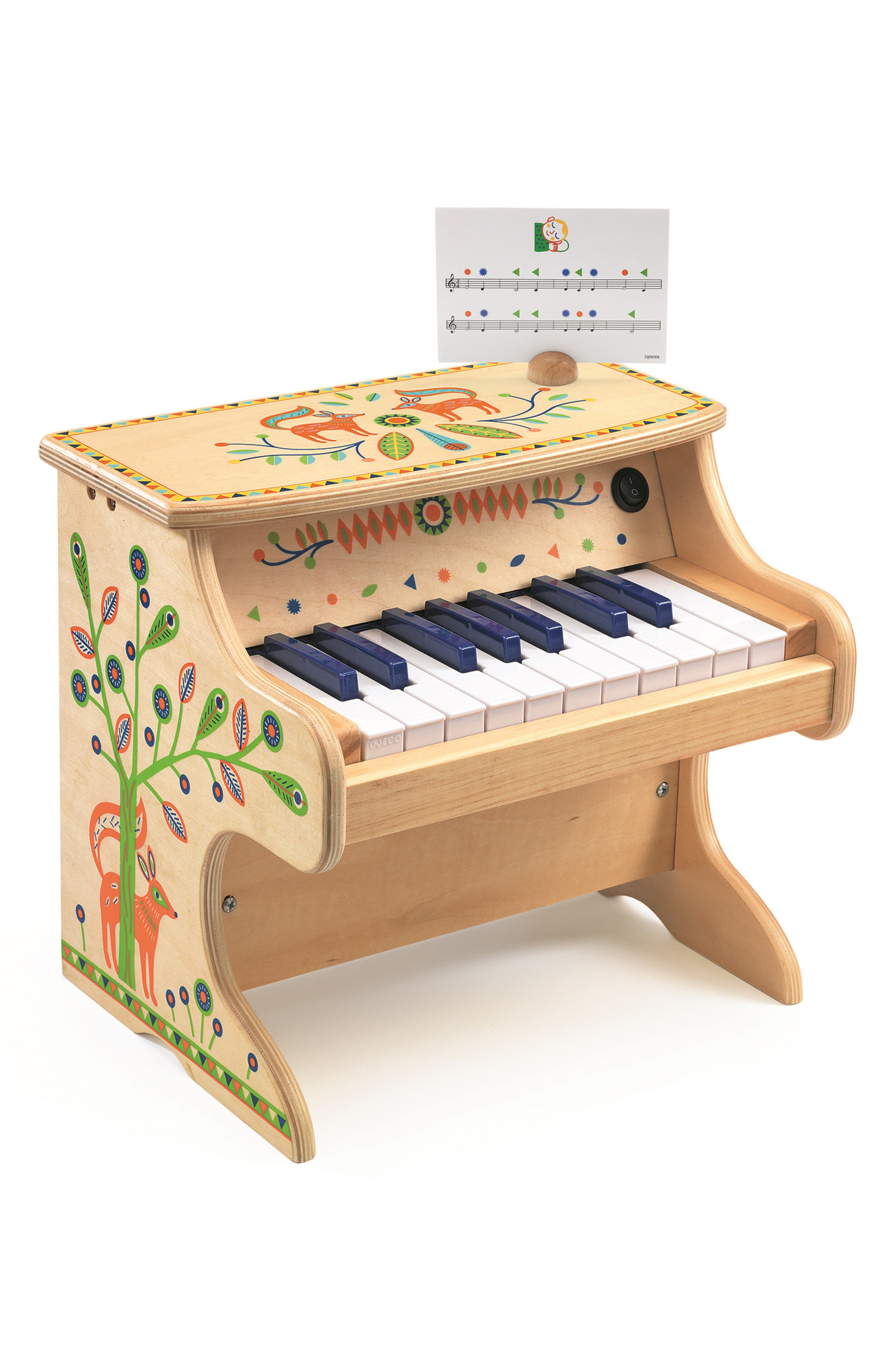 Toddler Djeco Animambo Electronic Toy Piano