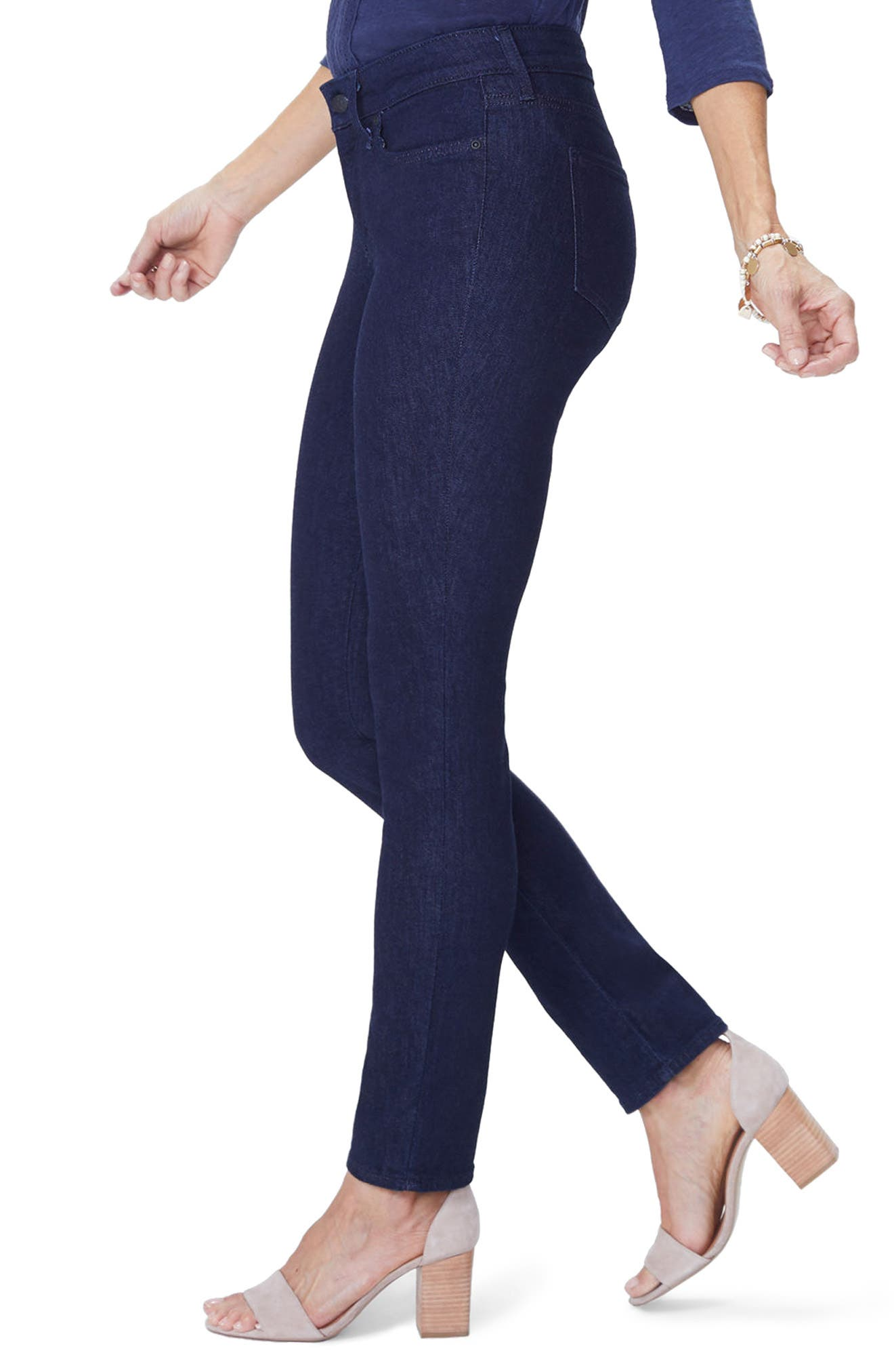 Alina Stretch Skinny Jeans,                             Alternate thumbnail 7, color,