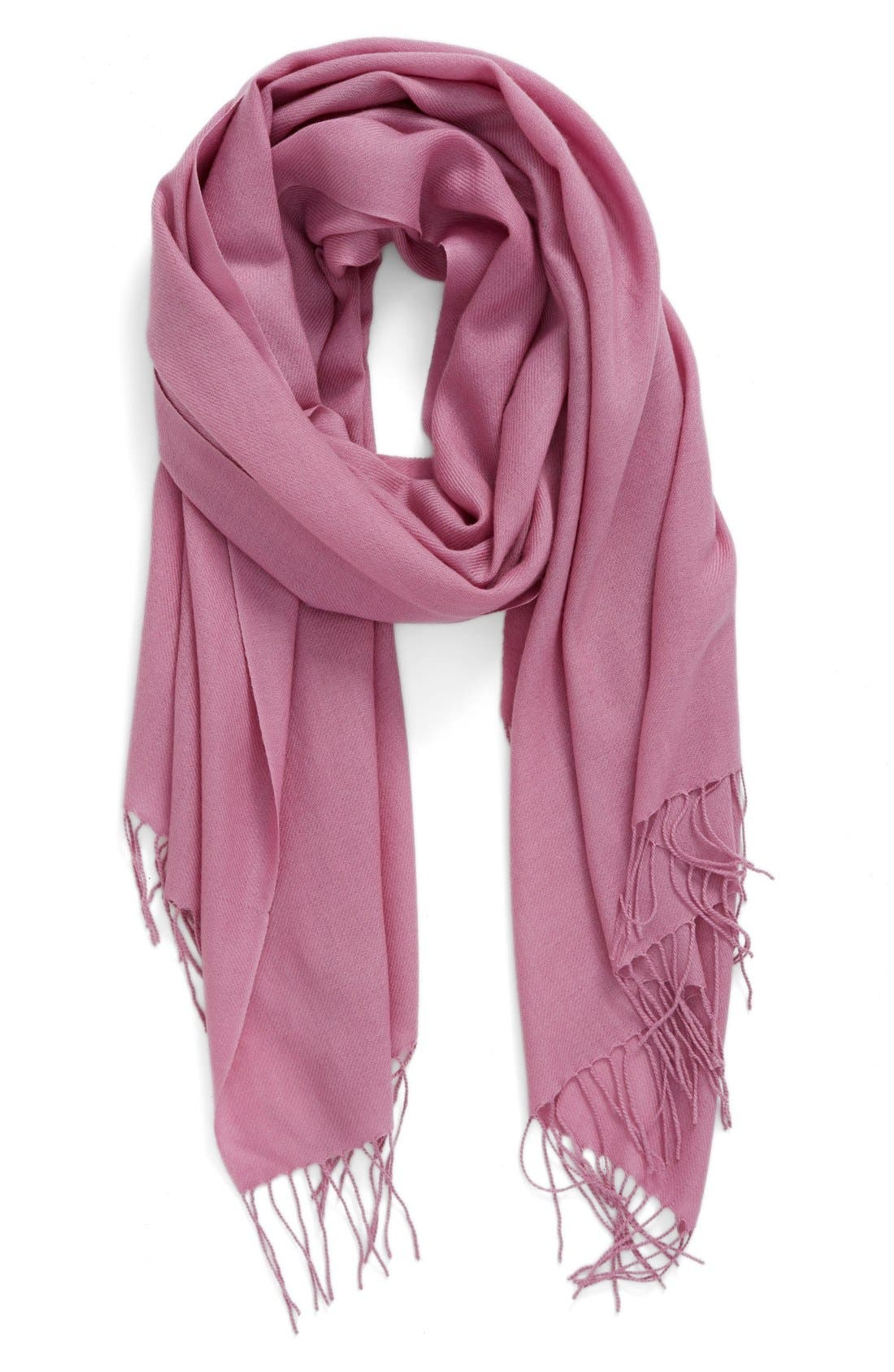 Tissue Weight Wool & Cashmere Scarf,                             Main thumbnail 52, color,