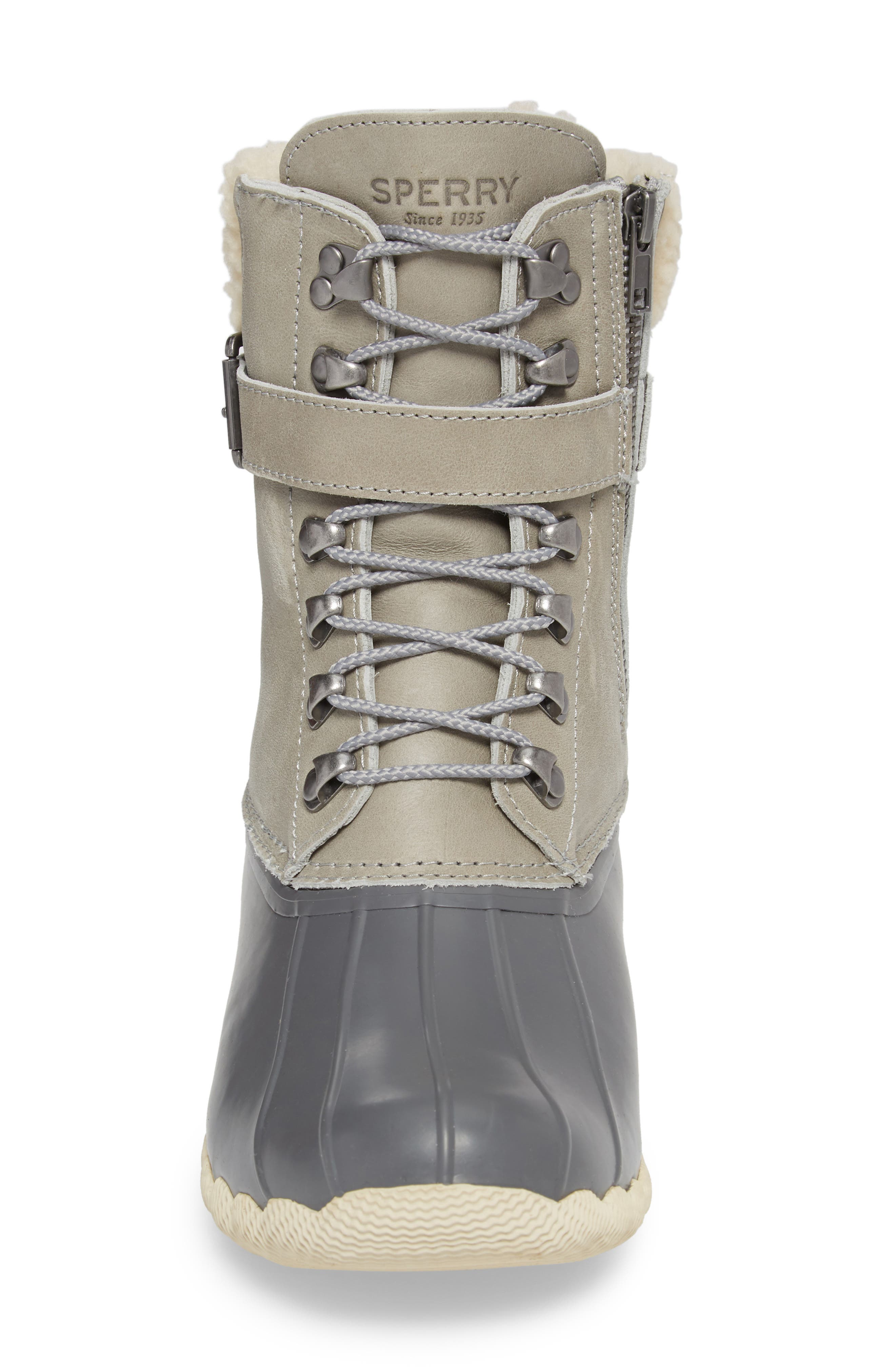 Shearwater Water-Resistant Genuine Shearling Lined Boot,                             Alternate thumbnail 15, color,