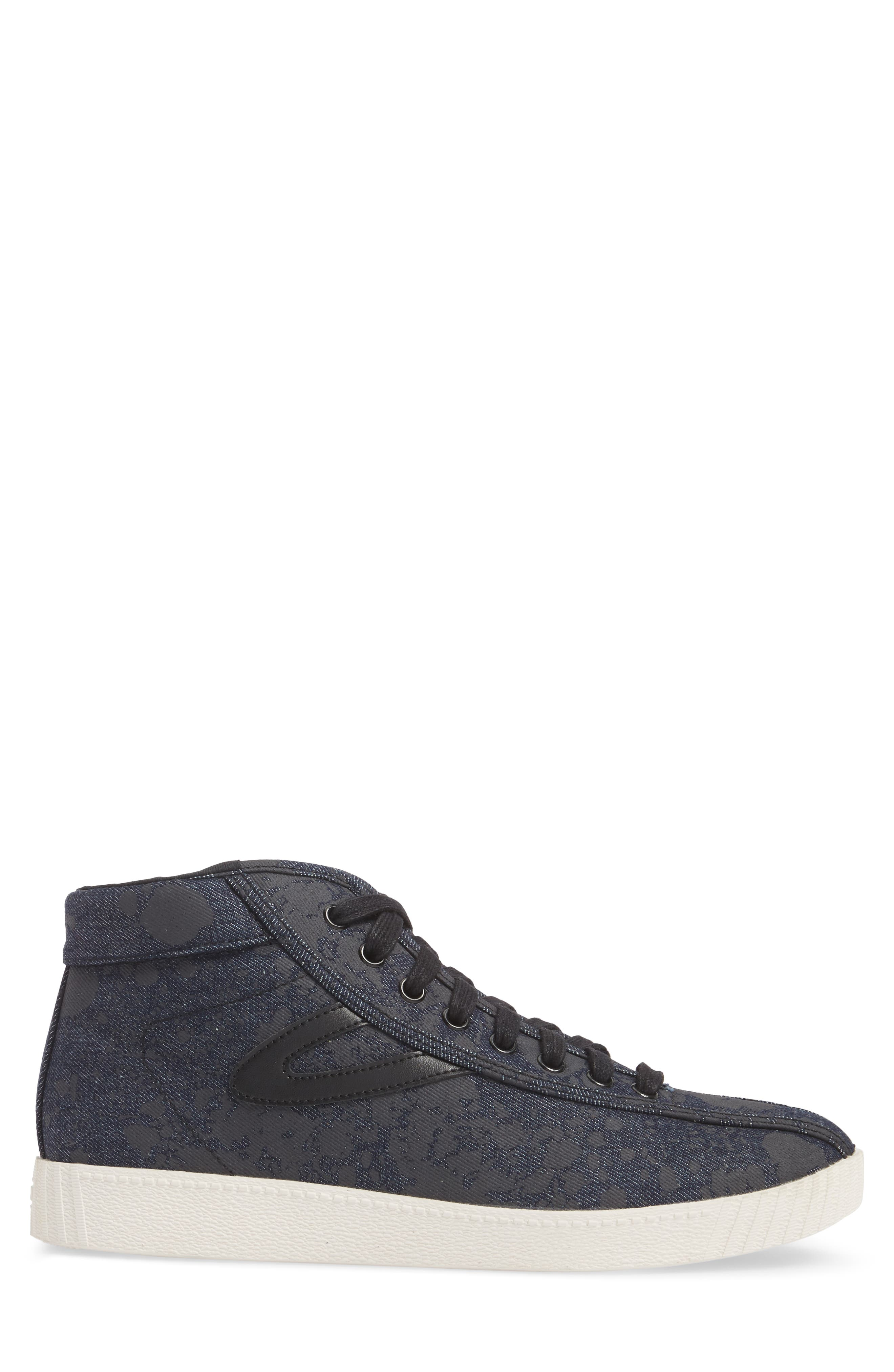 Nylite High Top Sneaker,                             Alternate thumbnail 3, color,                             001
