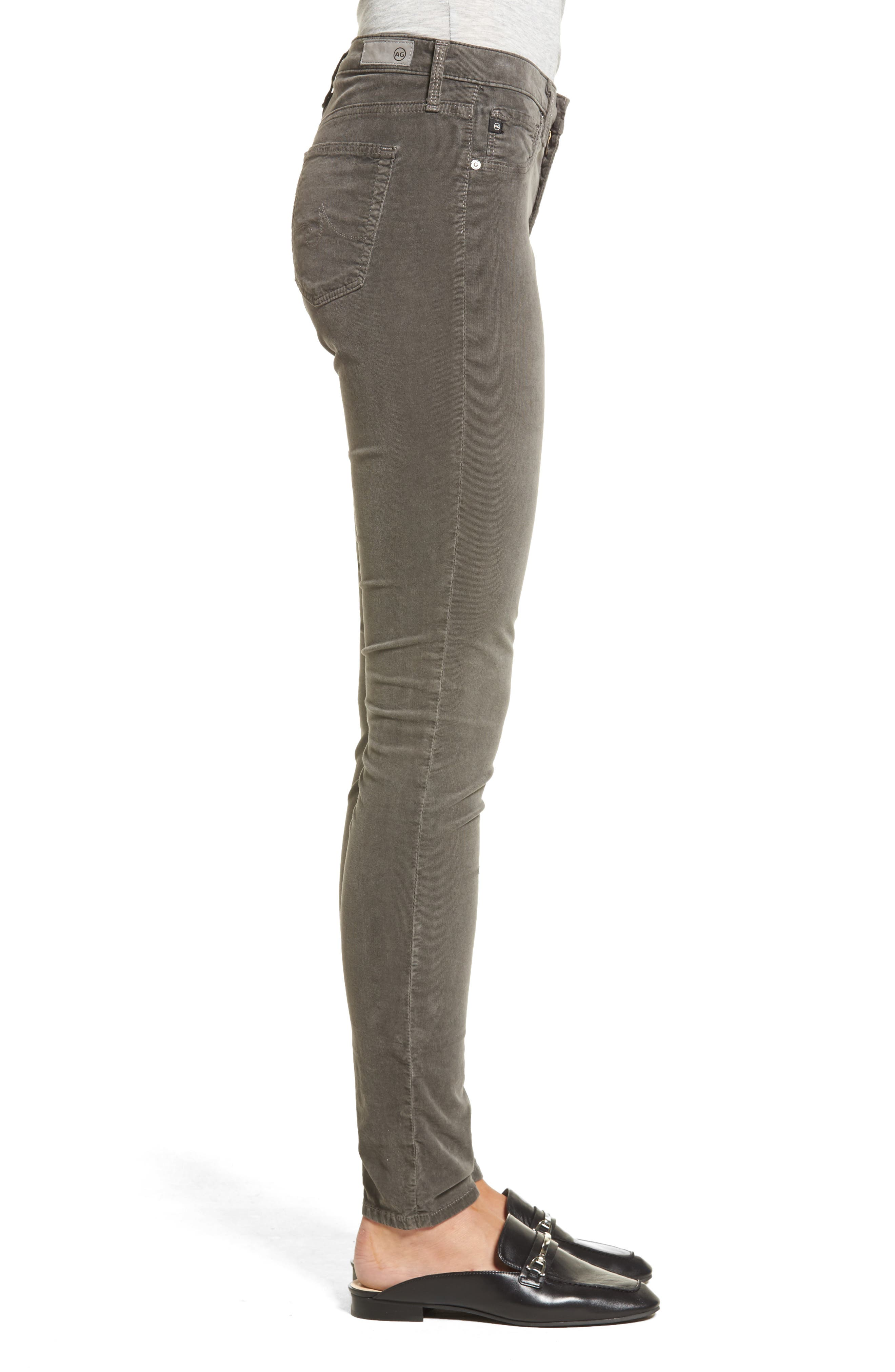 The Legging Super Skinny Corduroy Pants,                             Alternate thumbnail 3, color,                             029