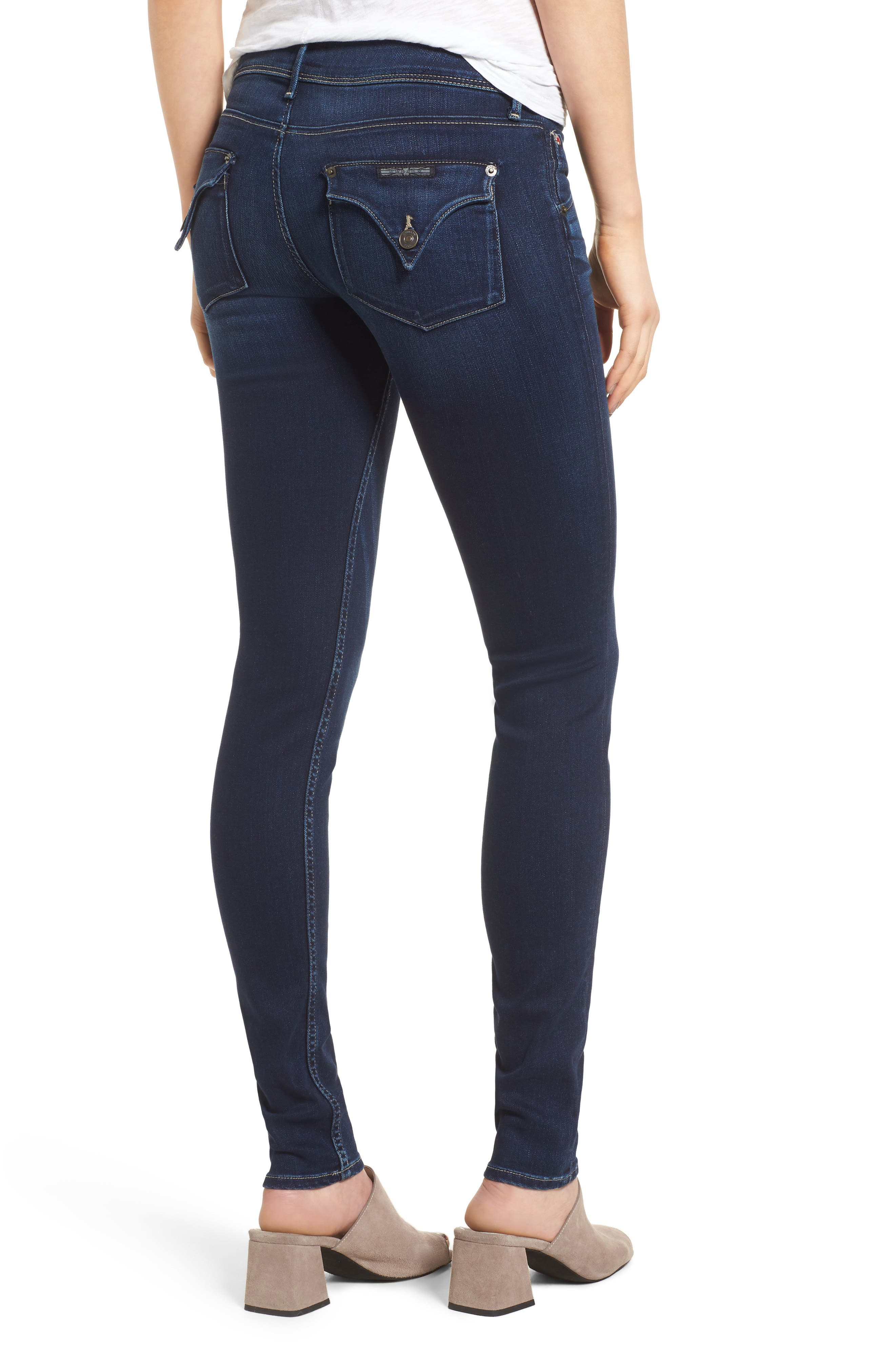 'Collin' Supermodel Skinny Jeans,                             Alternate thumbnail 2, color,                             CREST FALL