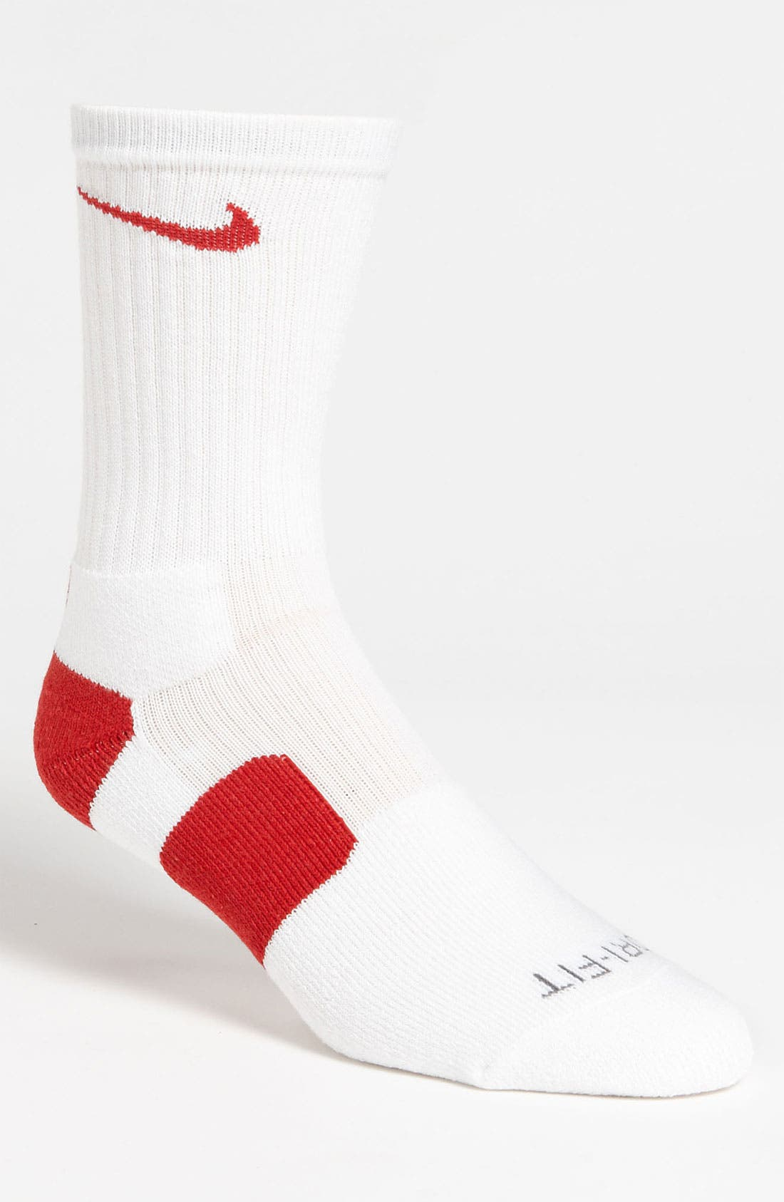'Elite Basketball' Crew Socks,                             Main thumbnail 22, color,