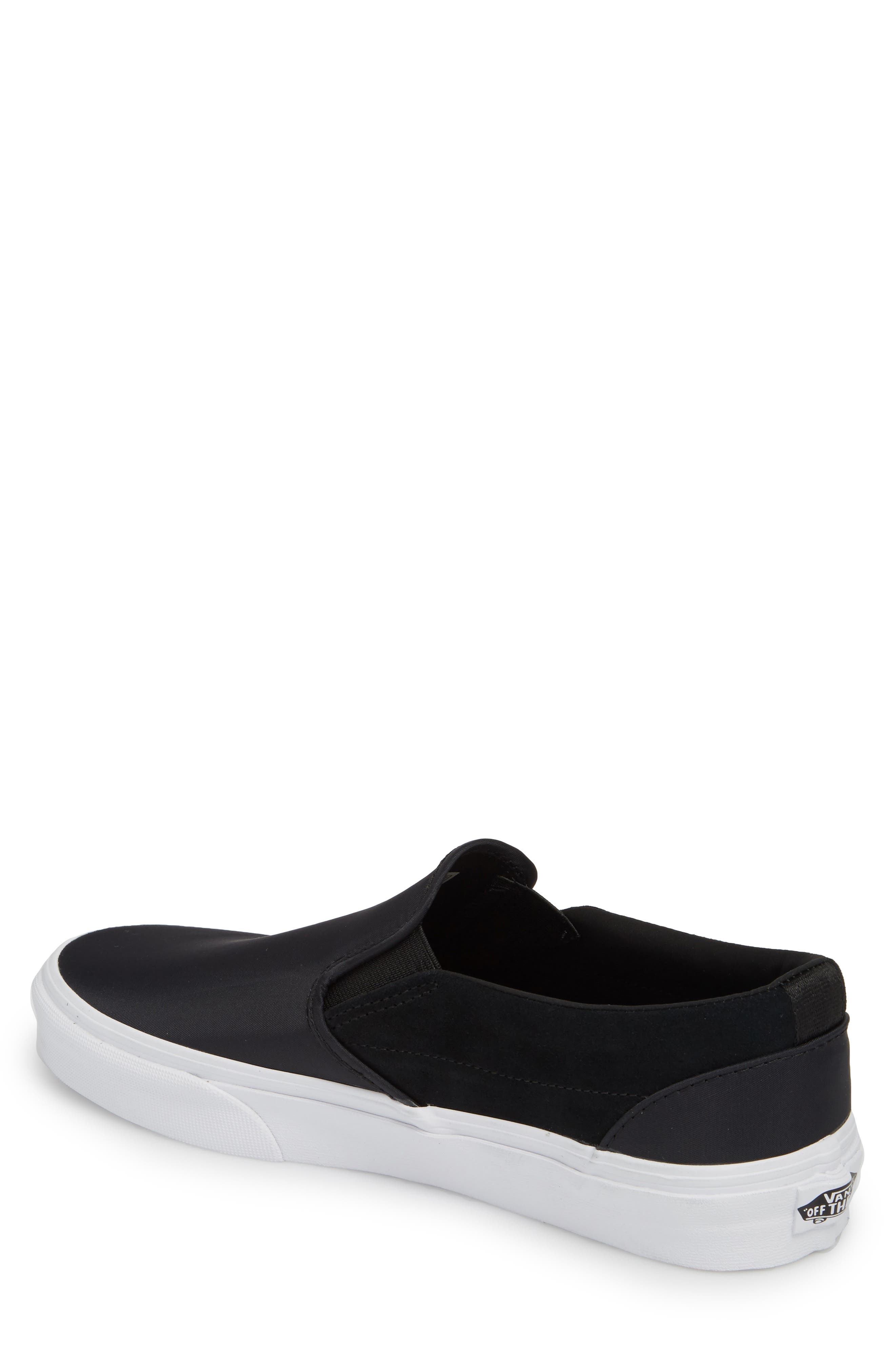 Surplus Nylon Slip-On Sneaker,                             Alternate thumbnail 2, color,                             001