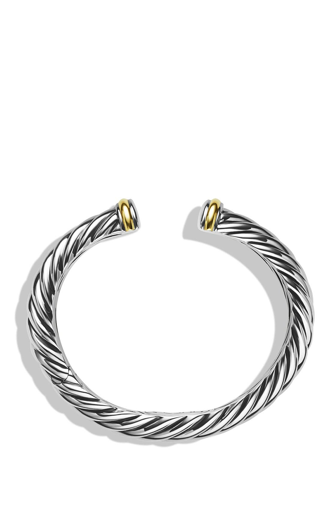 'Waverly' Bracelet with Gold,                             Alternate thumbnail 3, color,                             TWO TONE