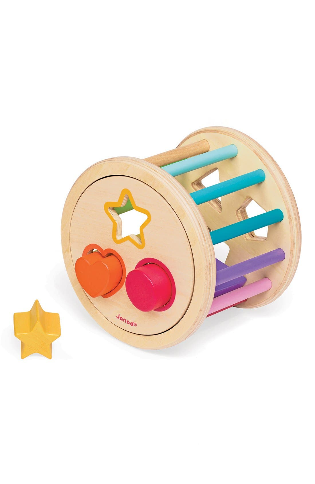 Wood Shape Sorter,                             Alternate thumbnail 3, color,                             650