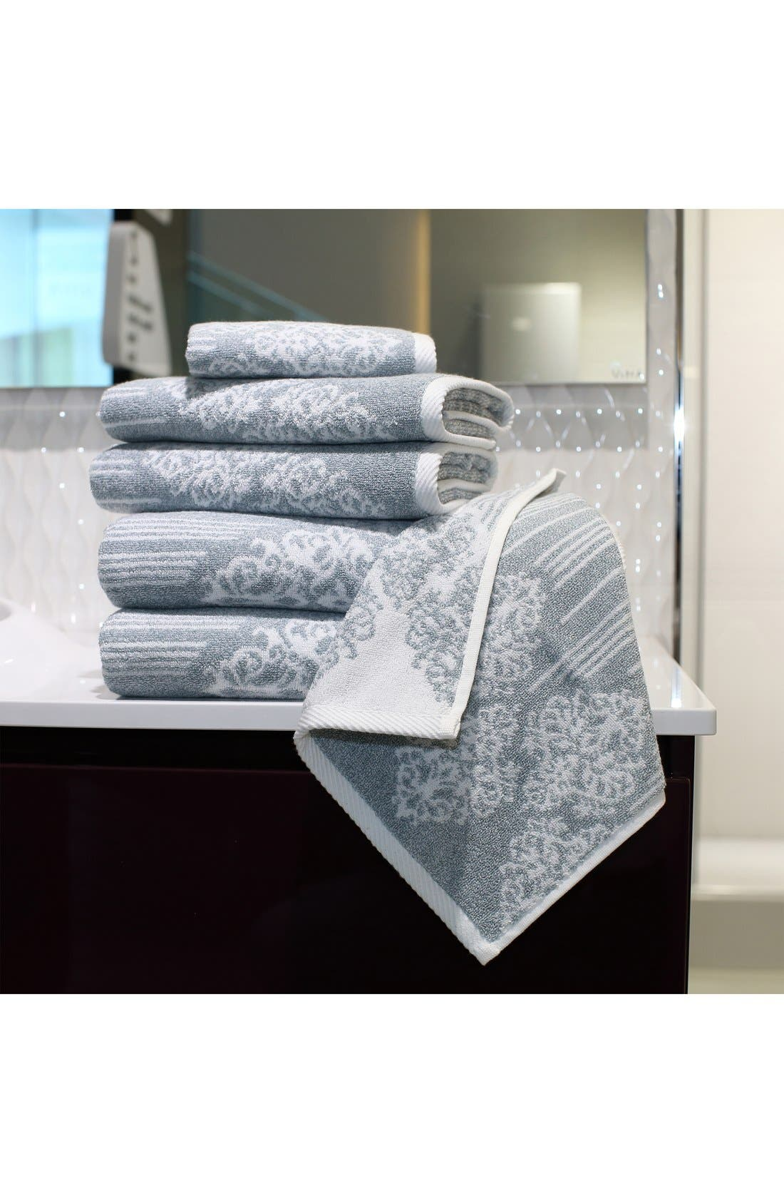 Linum 'Gioia' Bath Towels, Hand Towels & Washcloths,                             Alternate thumbnail 3, color,                             440