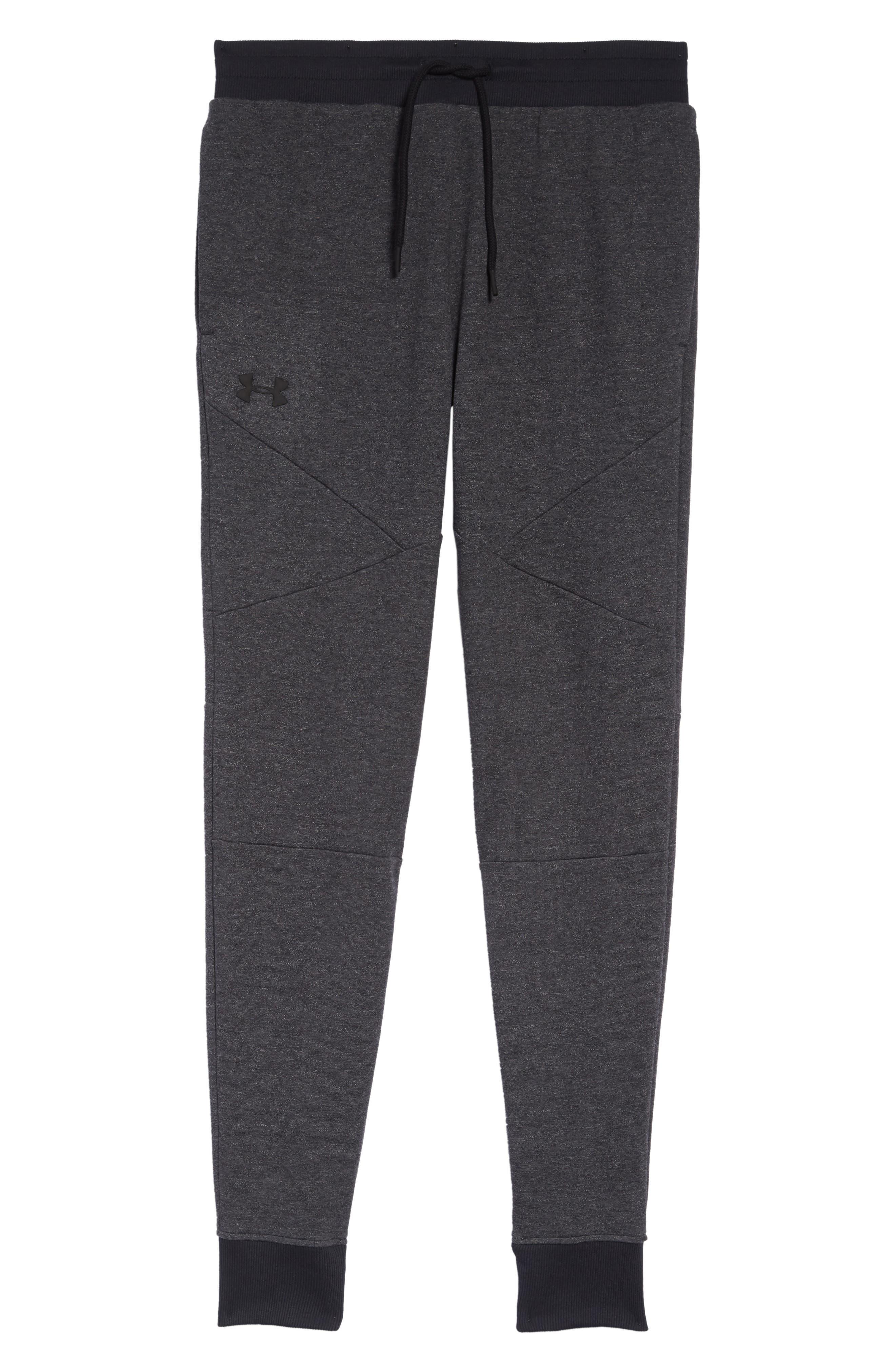 UNDER ARMOUR,                             Unstoppable Double Knit Jogger Pants,                             Alternate thumbnail 6, color,                             001