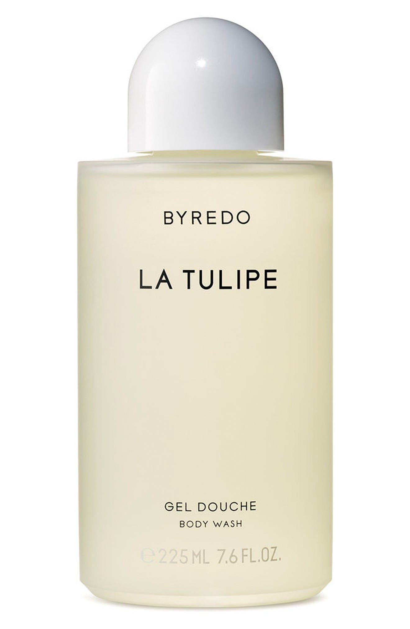 La Tulipe Body Wash,                             Main thumbnail 1, color,                             000