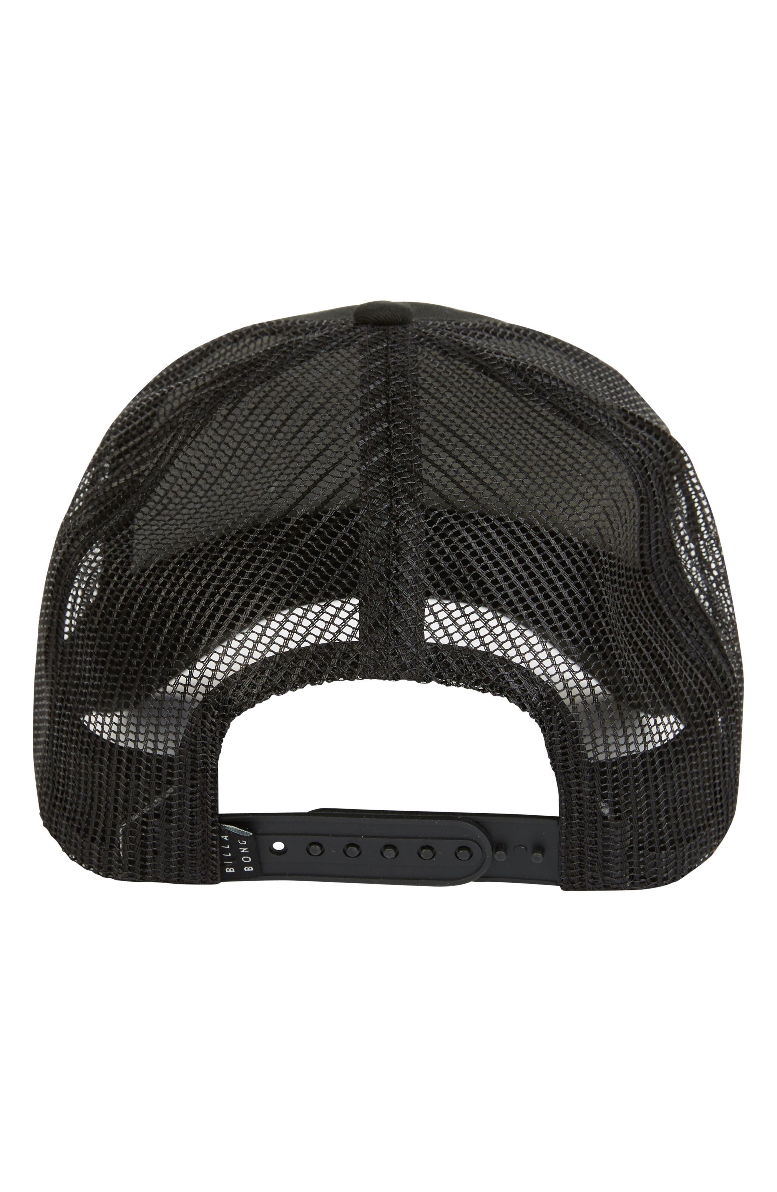 Walled Cap,                             Alternate thumbnail 2, color,                             BLACK WHITE