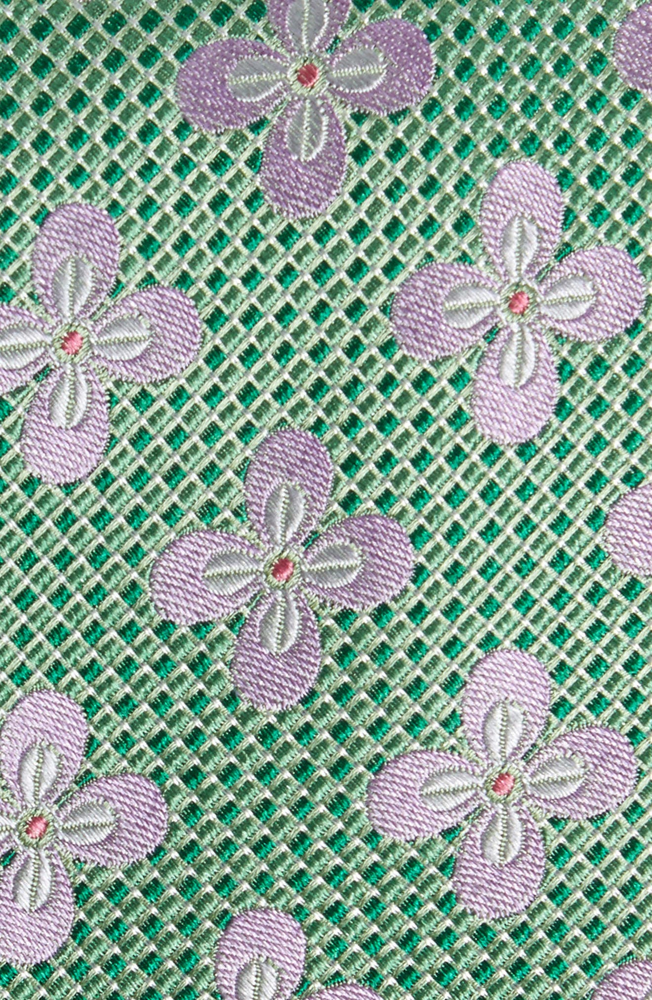 Floral Silk Tie,                             Alternate thumbnail 2, color,                             300