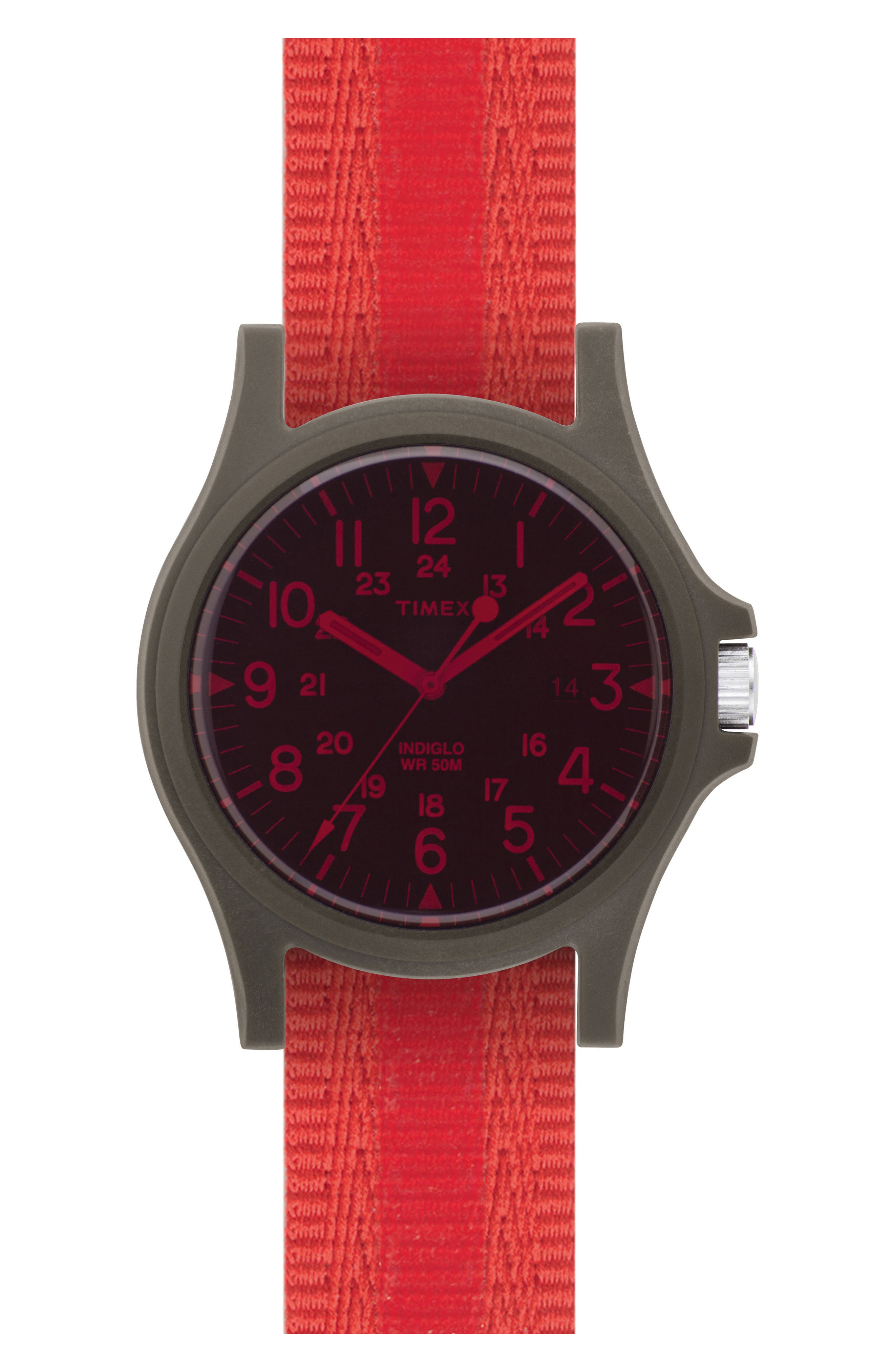 Acadia NATO Strap Watch, 40mm,                             Main thumbnail 1, color,