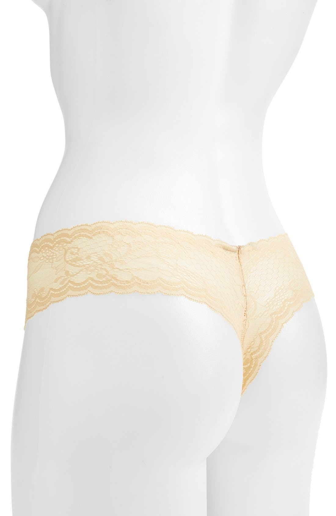 'Trenta' Low Rise Lace Thong,                             Alternate thumbnail 89, color,