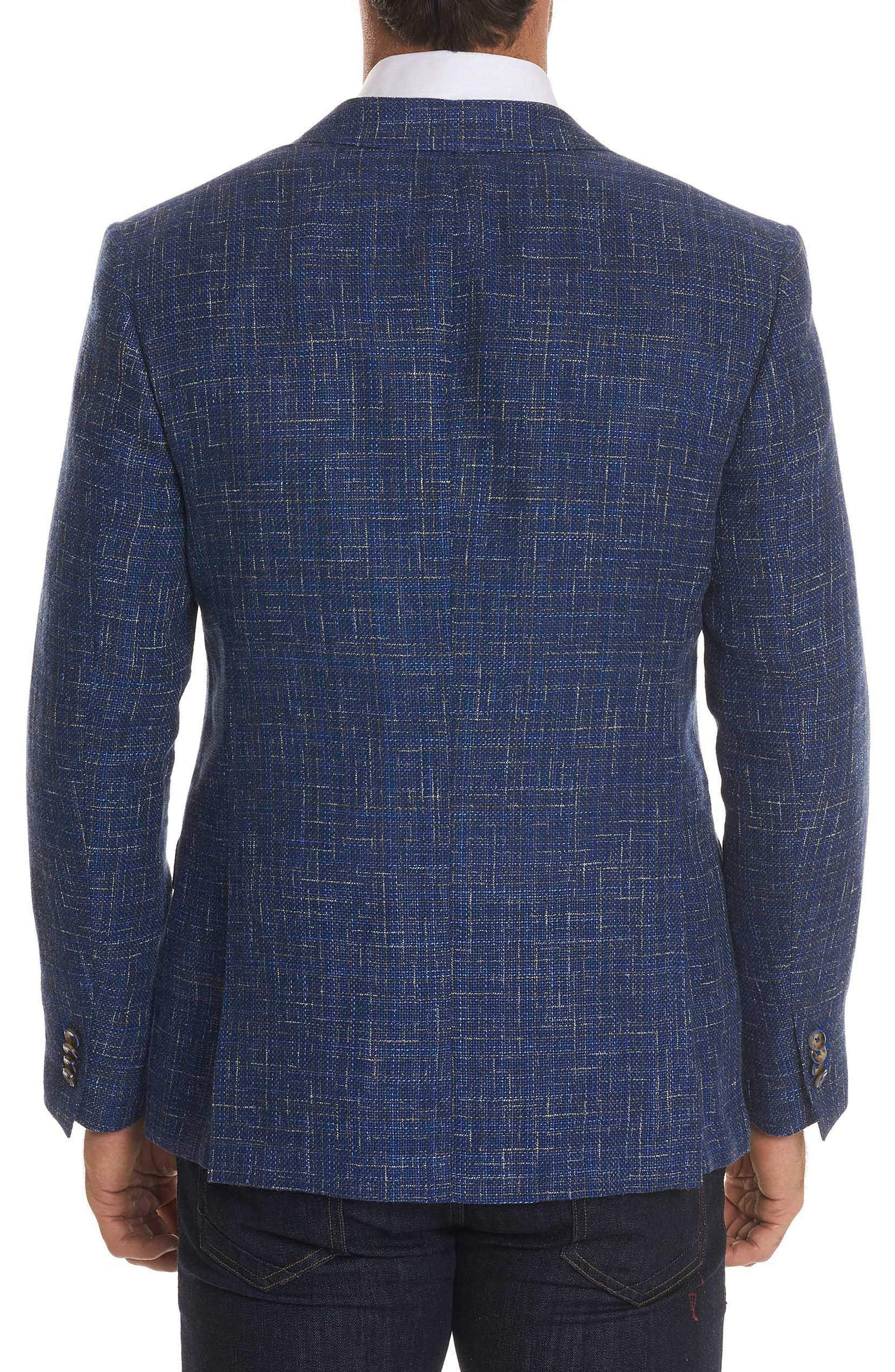 Jeremy Tailored Fit Sportcoat,                             Alternate thumbnail 2, color,                             BLUE