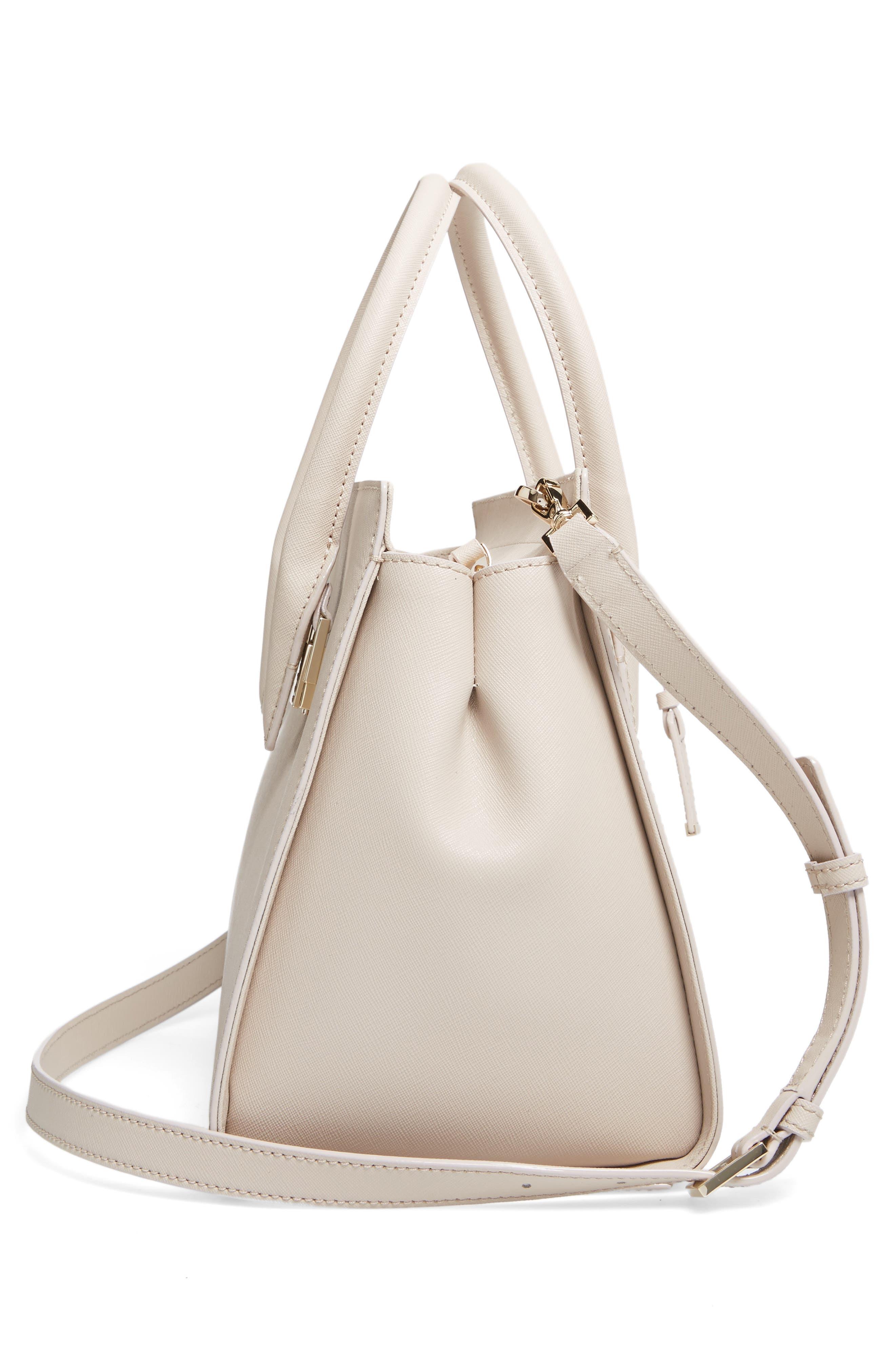 make it mine - candace leather satchel,                             Alternate thumbnail 10, color,
