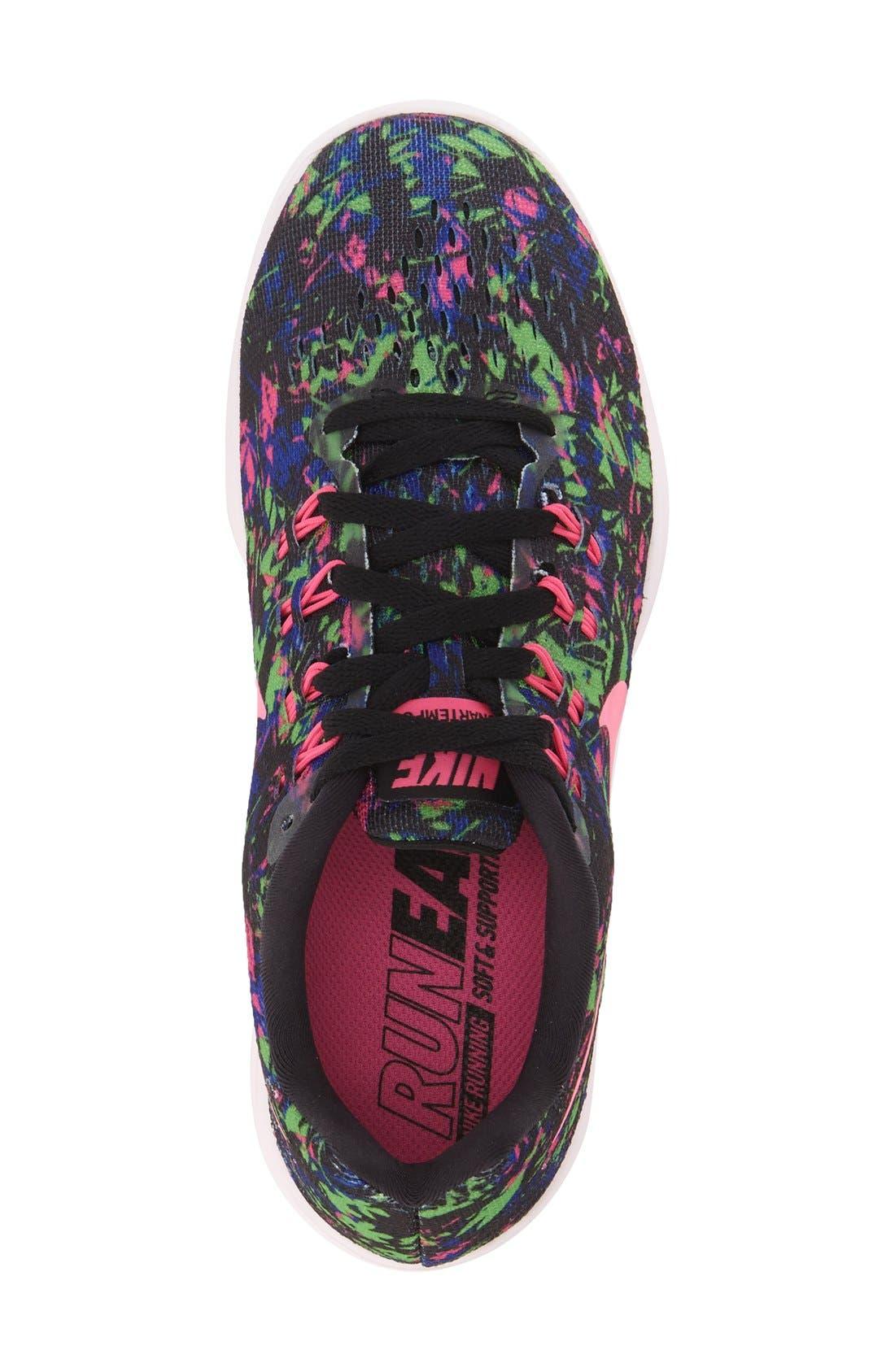 'LunarTempo 2' Print Running Shoe,                             Alternate thumbnail 3, color,                             006