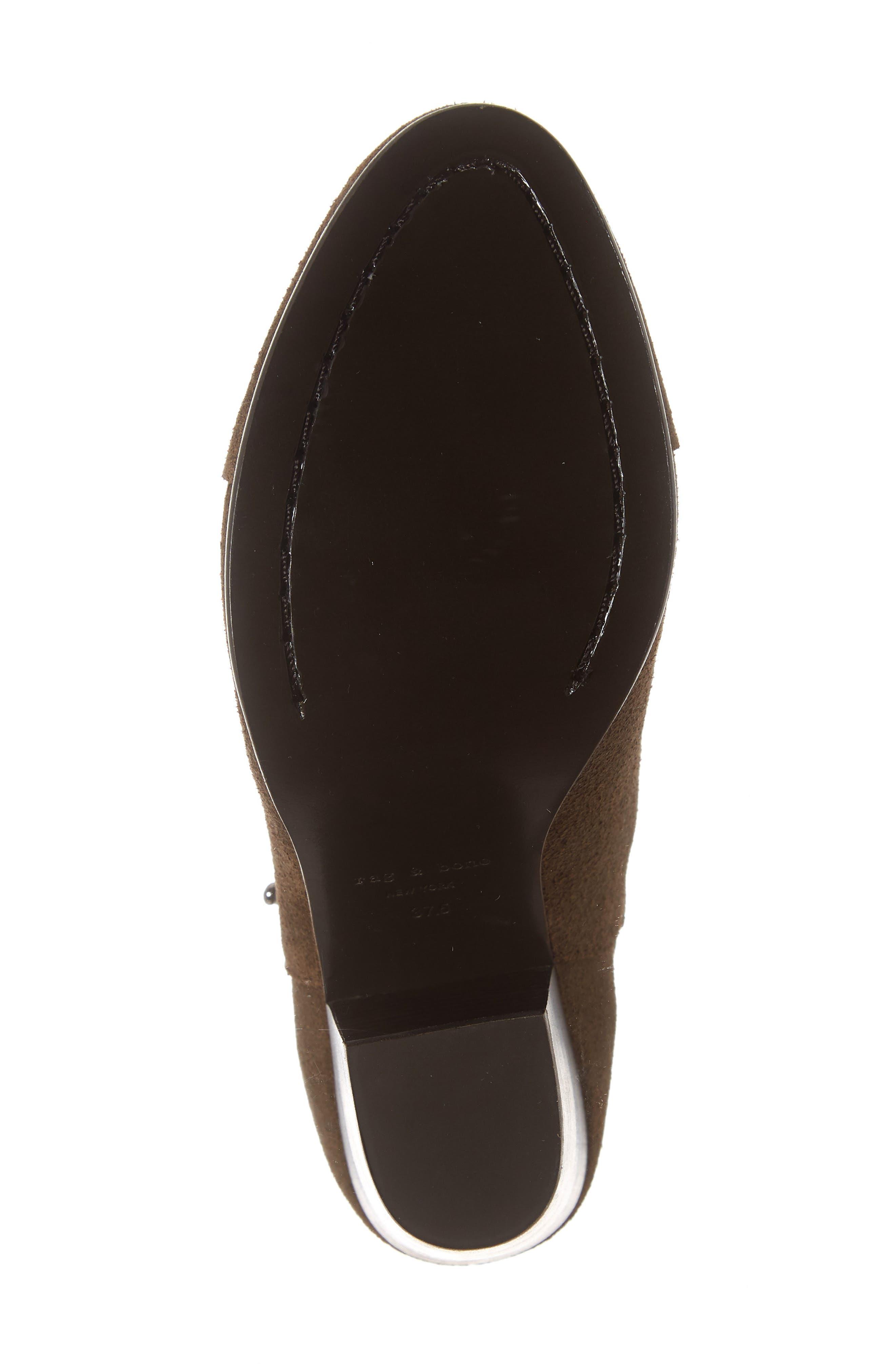 'Harrow' Leather Boot,                             Alternate thumbnail 6, color,                             200