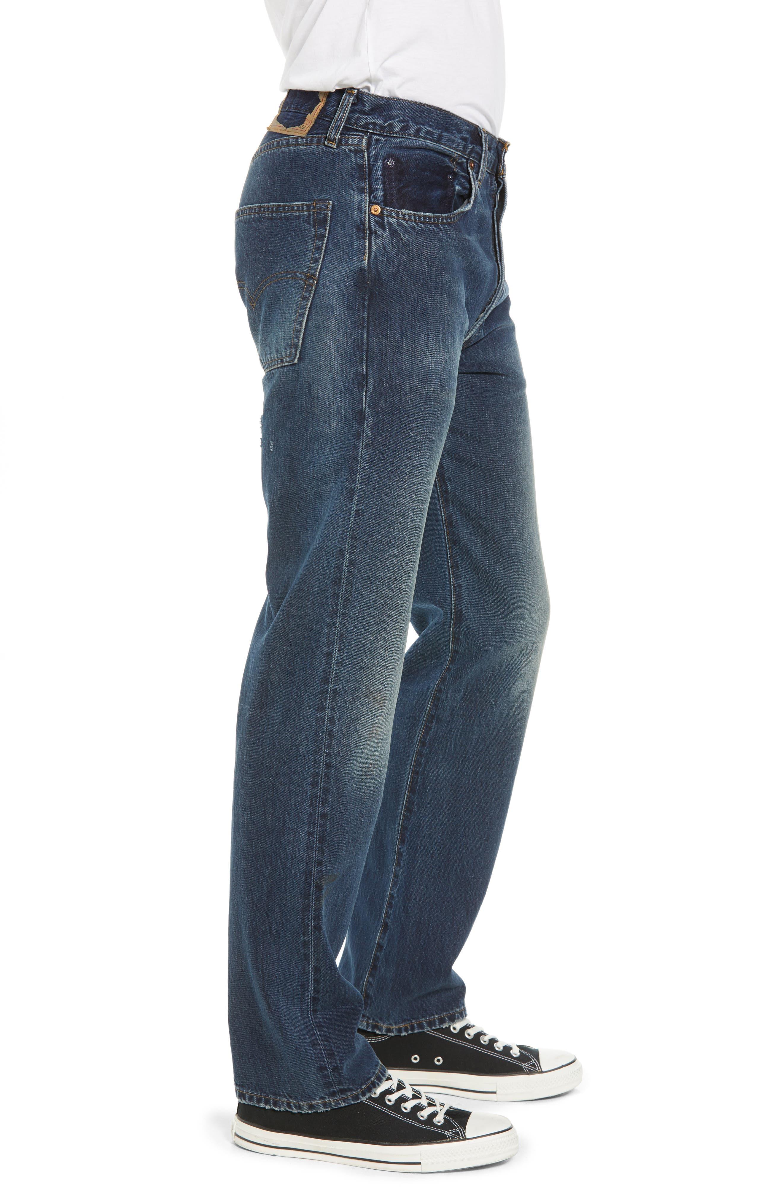 Levi's<sup>®</sup> 1967 501<sup>®</sup> Slim Fit Jeans,                             Alternate thumbnail 3, color,                             402