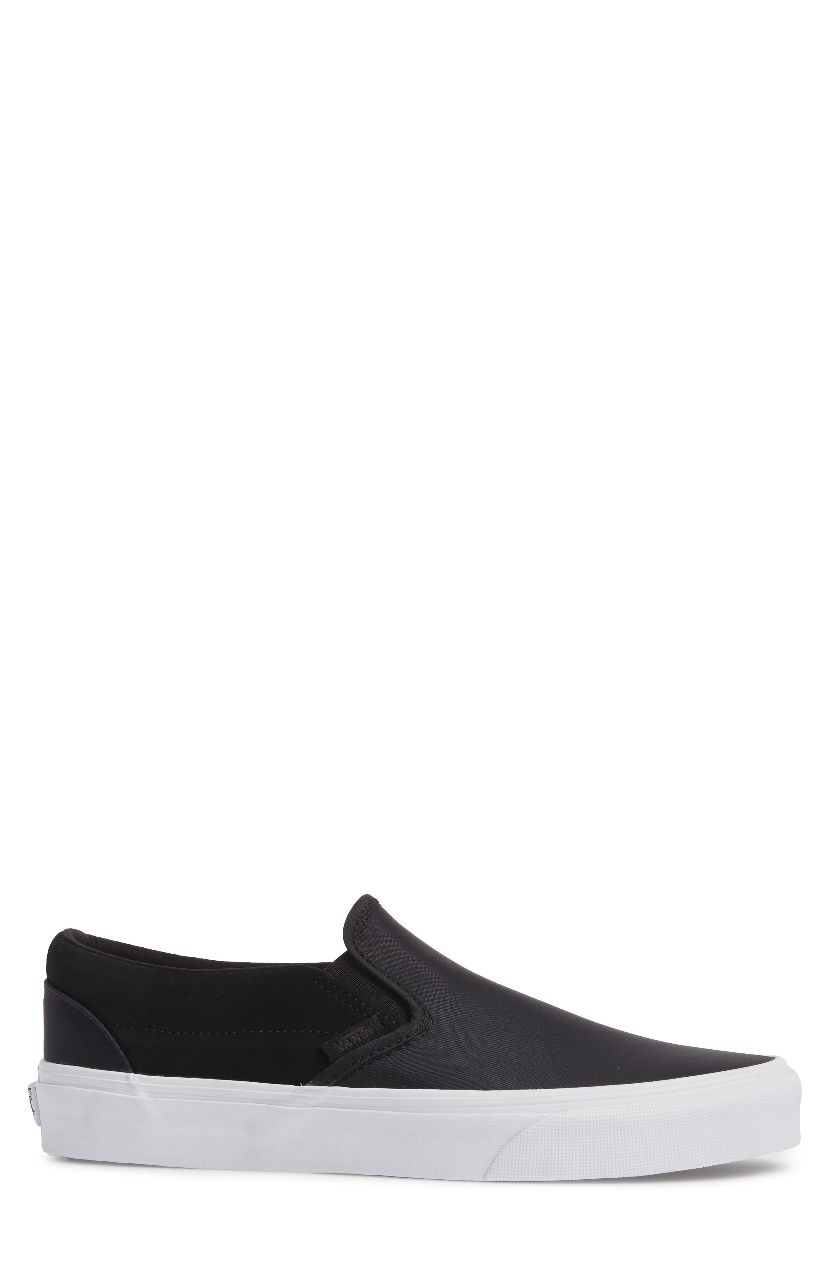 Surplus Nylon Slip-On Sneaker,                             Alternate thumbnail 3, color,                             001