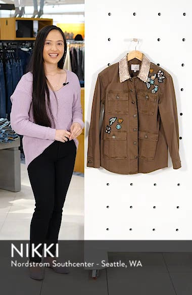 Canyon Sequin Patch Jacket, sales video thumbnail