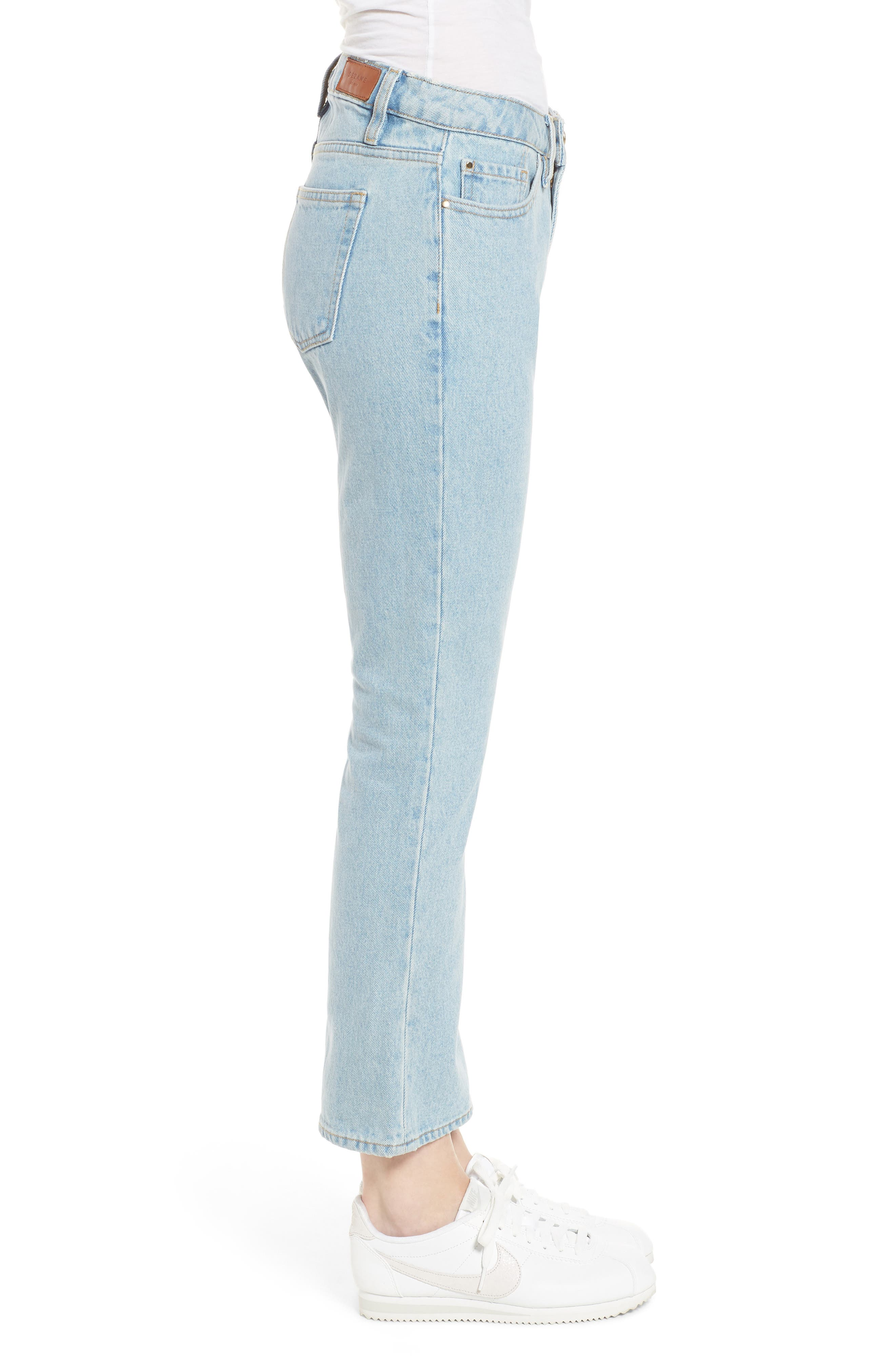1970 The Flared Crop Jeans,                             Alternate thumbnail 9, color,