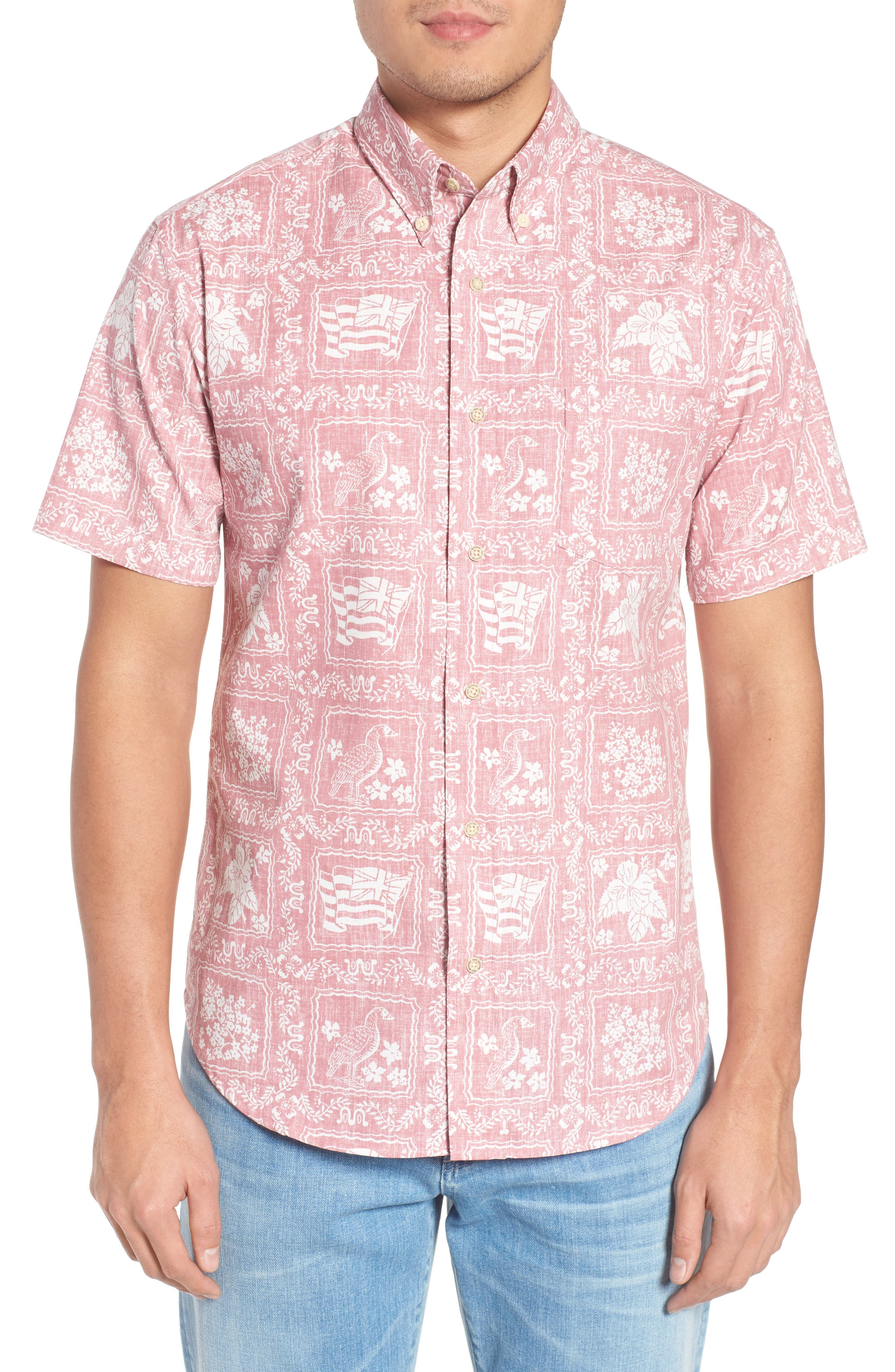 Lahaina Sailor Tailored Fit Sport Shirt,                             Main thumbnail 2, color,
